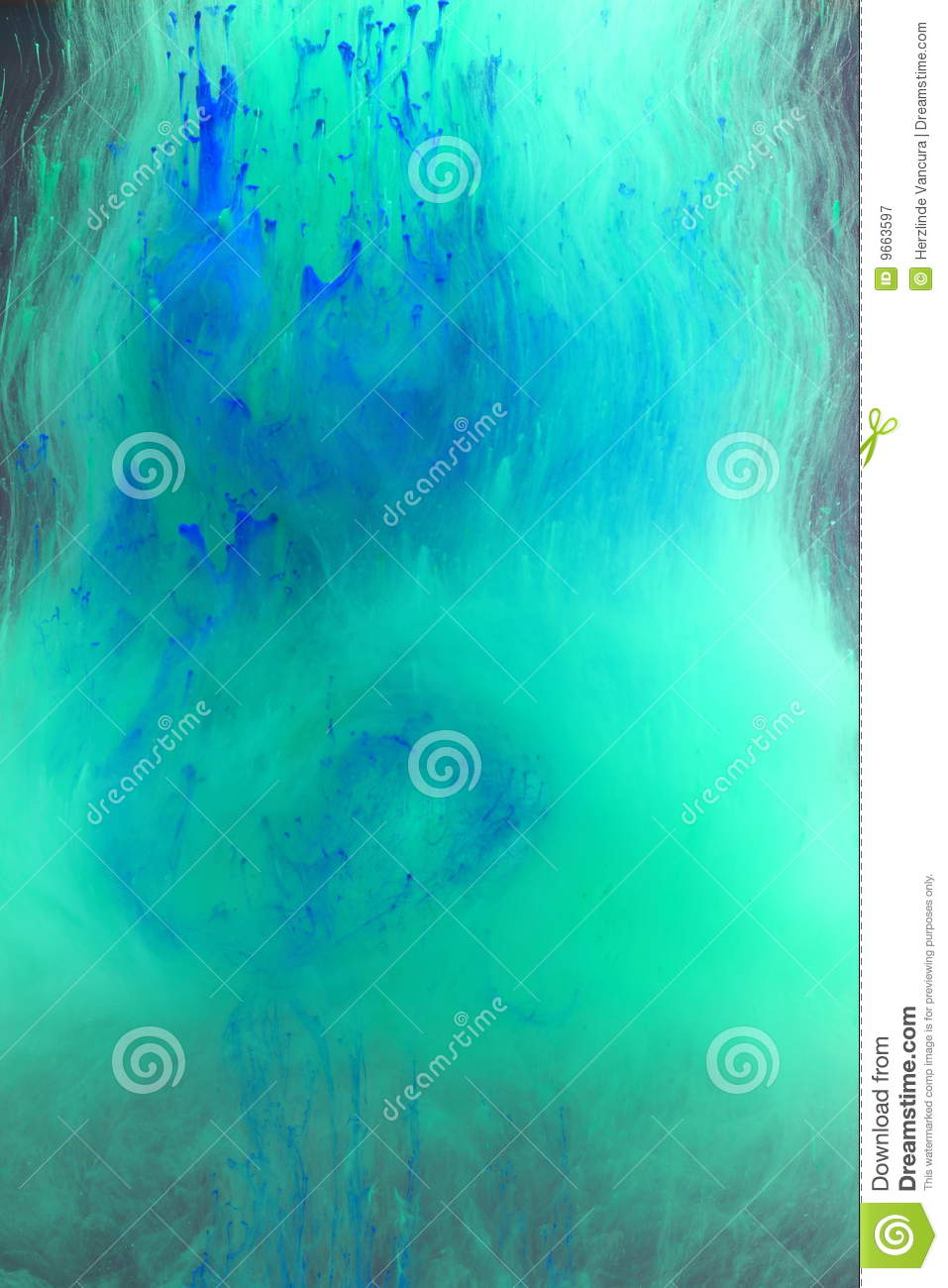 All New Hd Wallpaper Download Blue Green Watery Background Stock Image Image 9663597