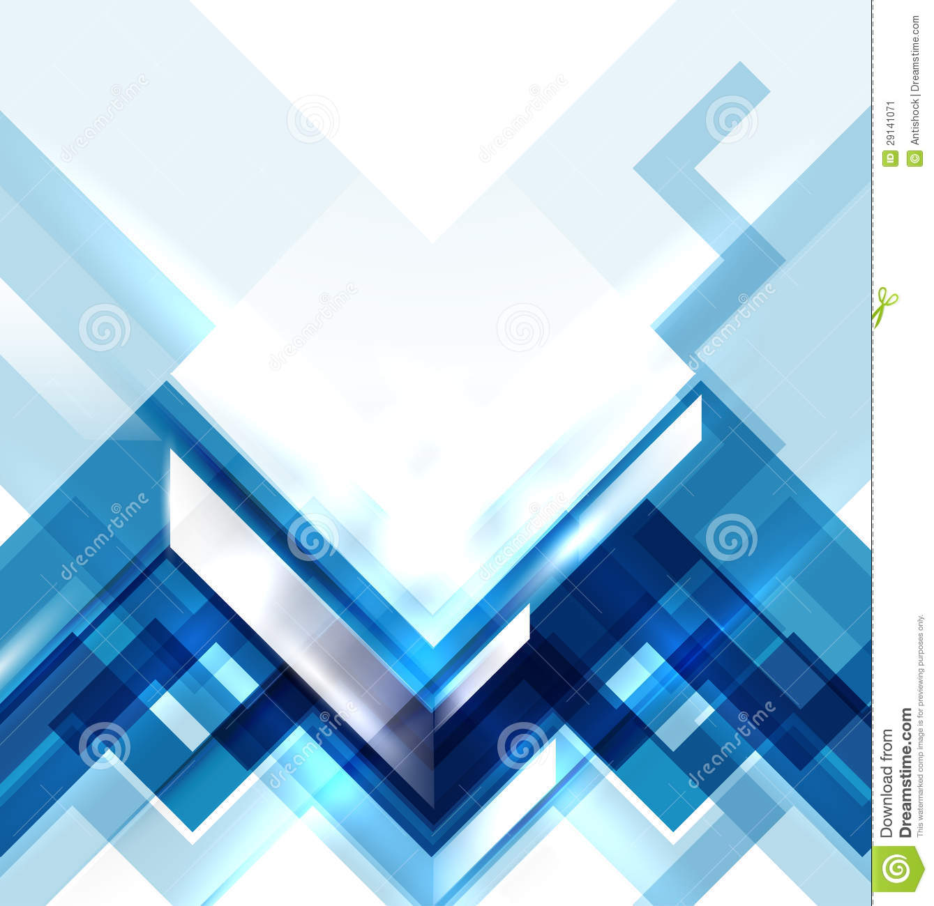 Blue Modern Wallpaper Texture Blue Modern Geometric Abstract Background Stock Image