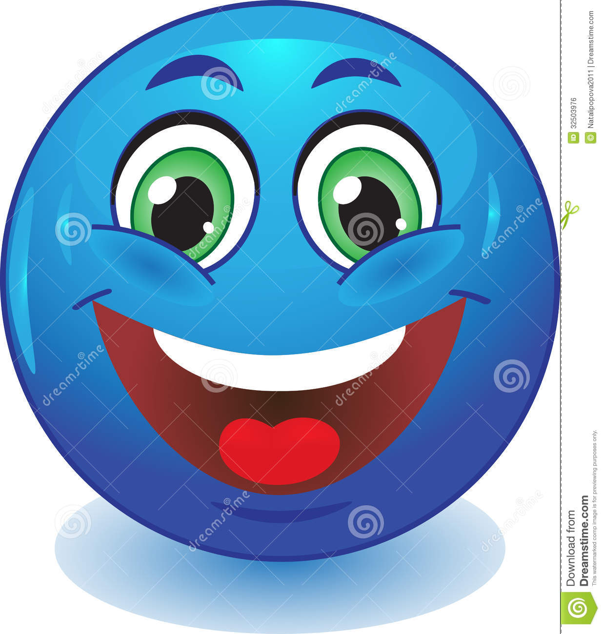 Emoticons Cute Wallpaper Blue Smiley Smiles Stock Vector Image Of Icon Emotion