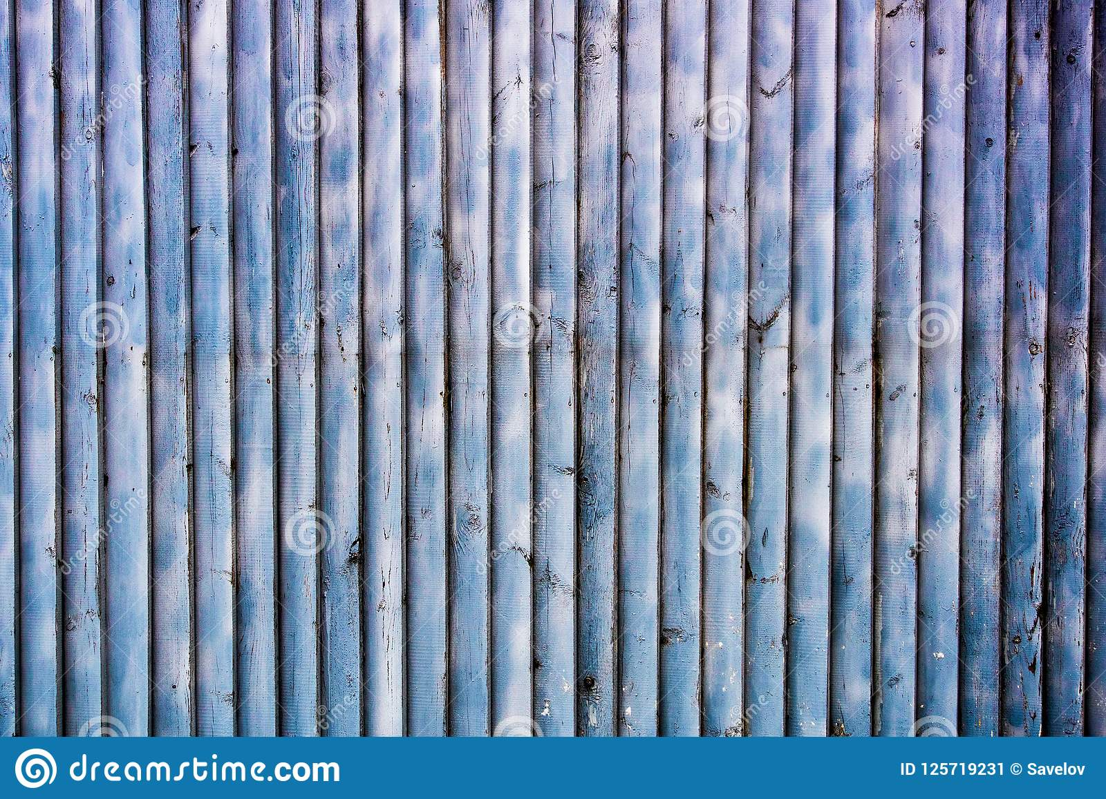 Vertical Wood Slat Wall Blue Wooden Wall From Vertical Slats Stock Image Image Of