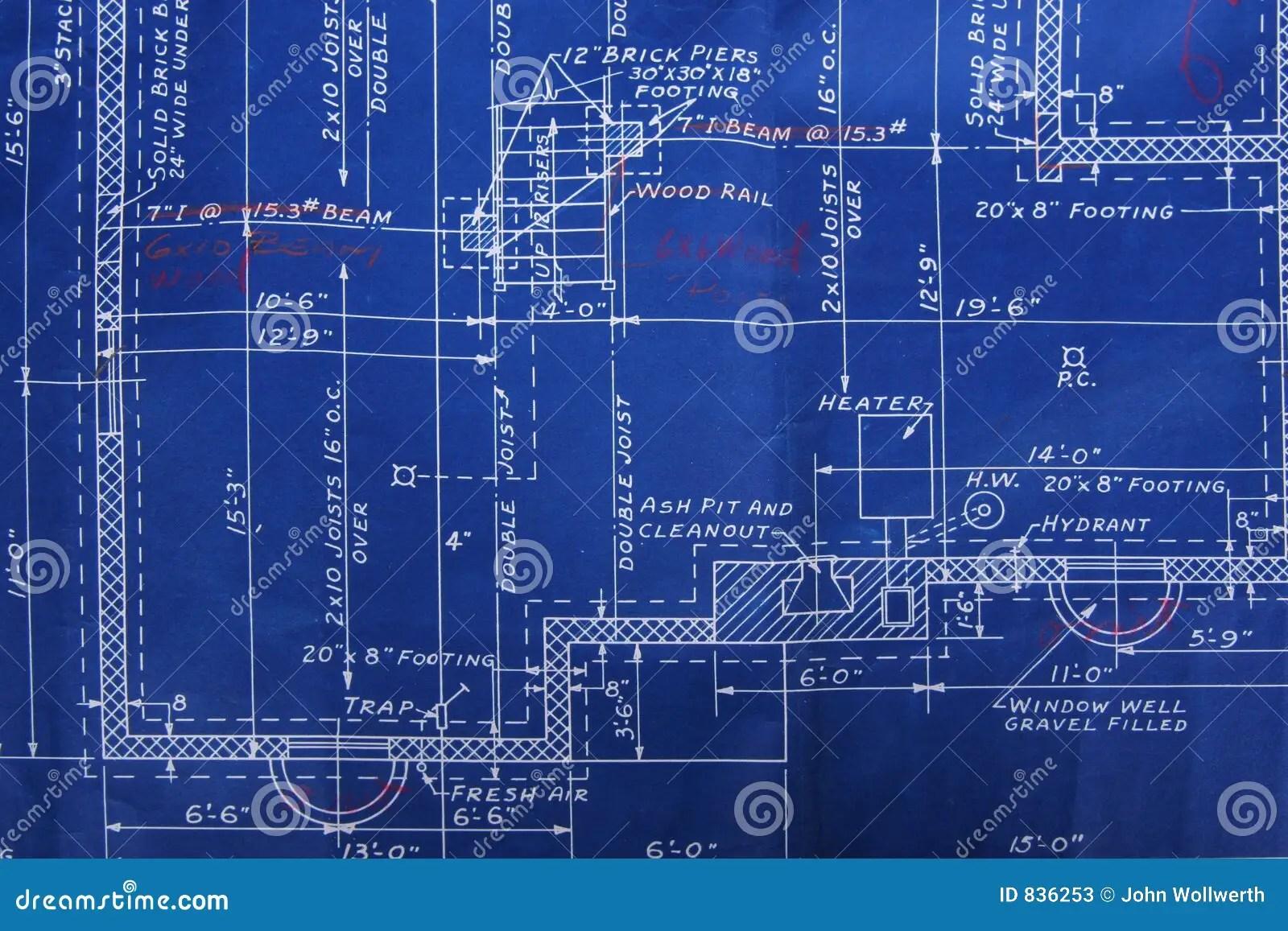 Cmyk Wallpaper Hd Blueprint Detail Stock Photos Image 836253