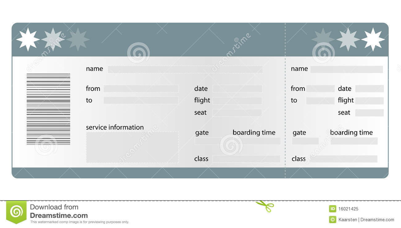 boarding pass template download
