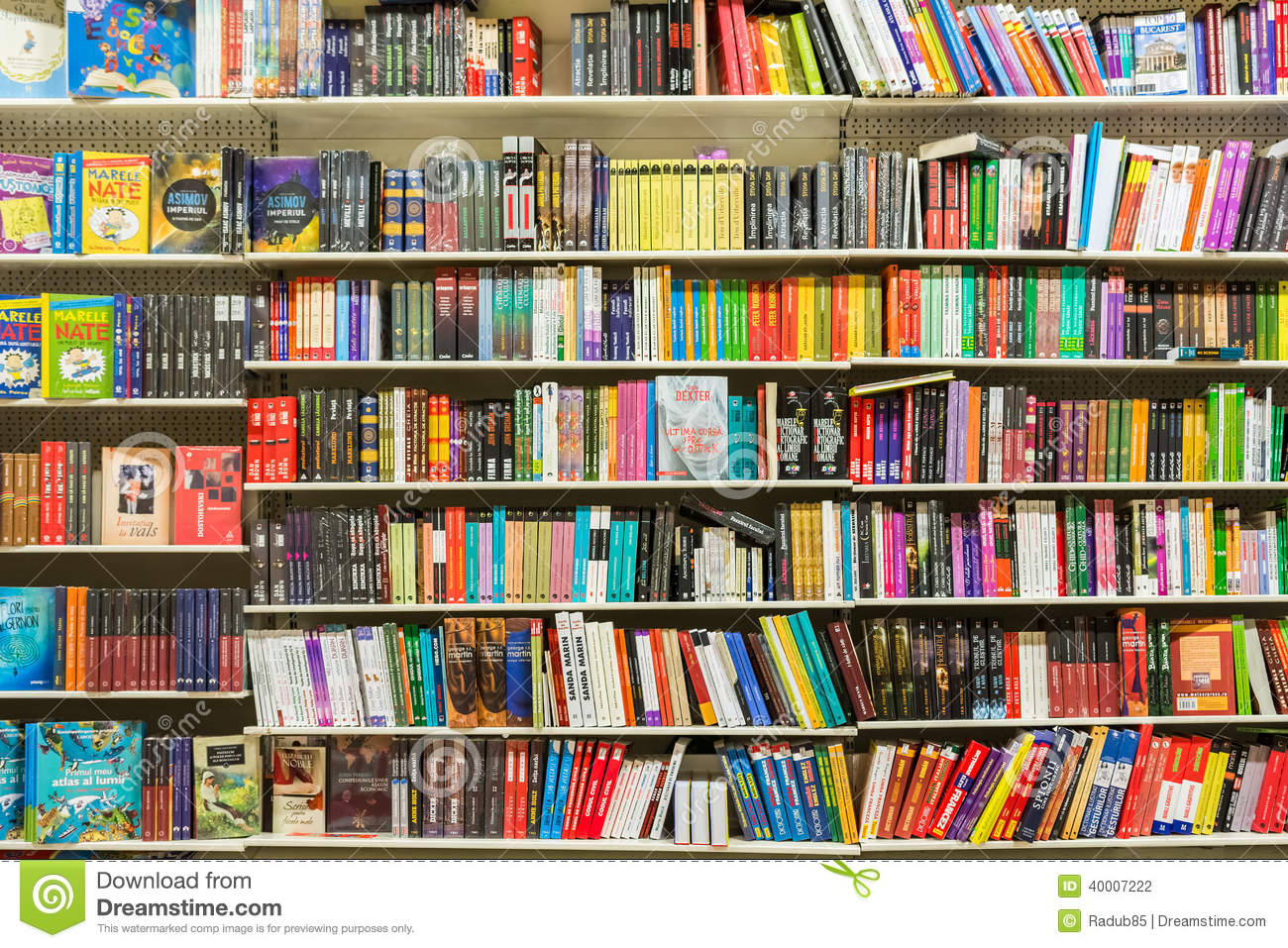 3d Shelves Wallpaper Books On Library Shelf Editorial Photography Image 40007222