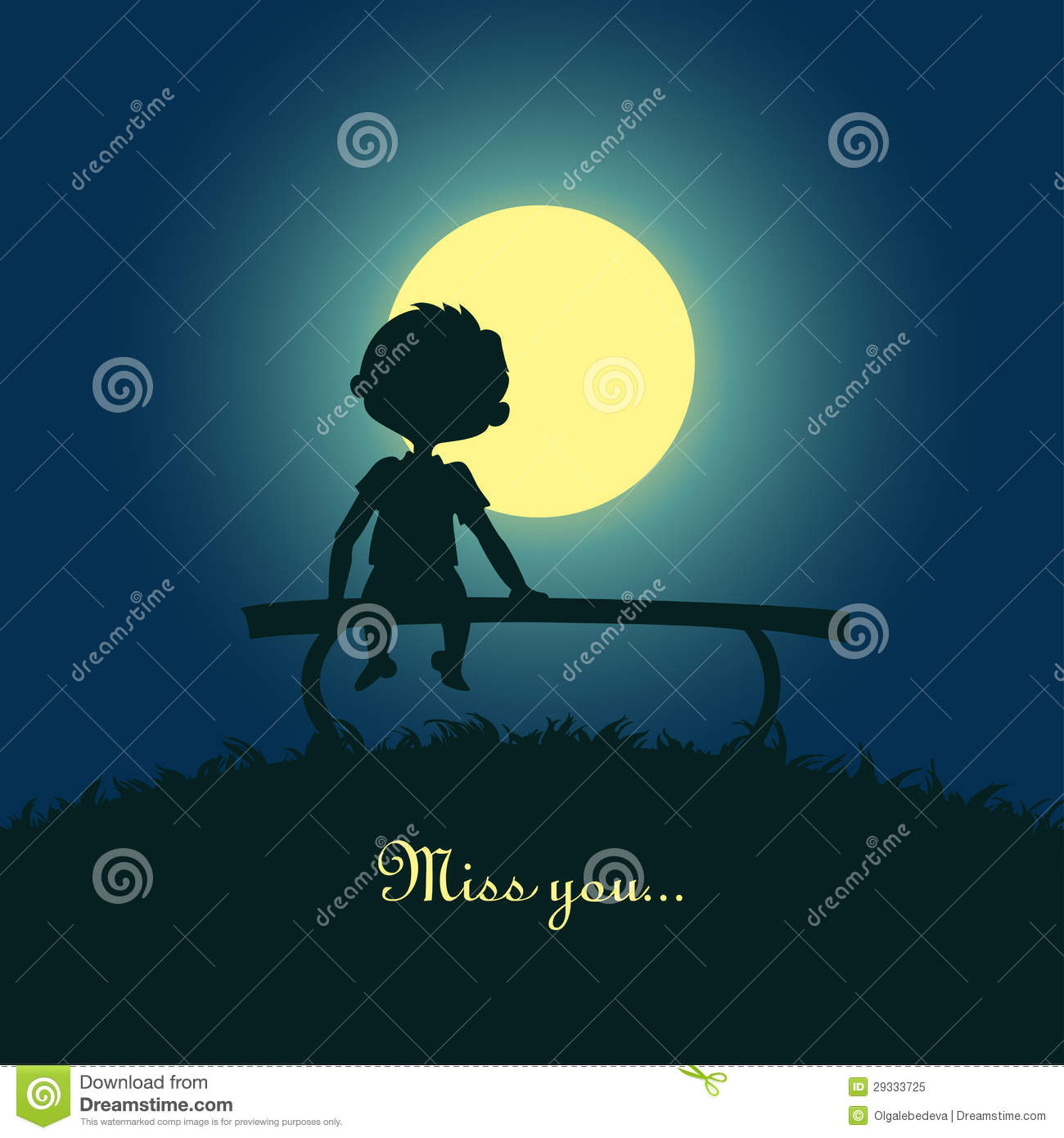 Sad Girl Sitting Alone Hd Wallpapers Boy Sitting Lonely In The Moonlight Royalty Free Stock
