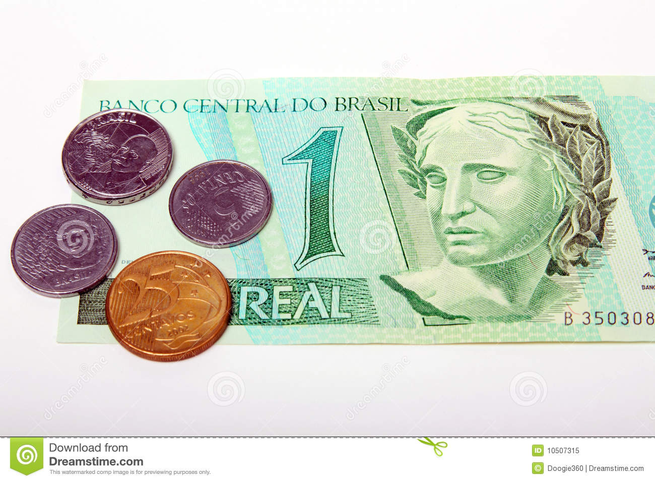 Clipart Pictures Iceberg Brazil Reais Currency Paper Bill And Coins Royalty Free