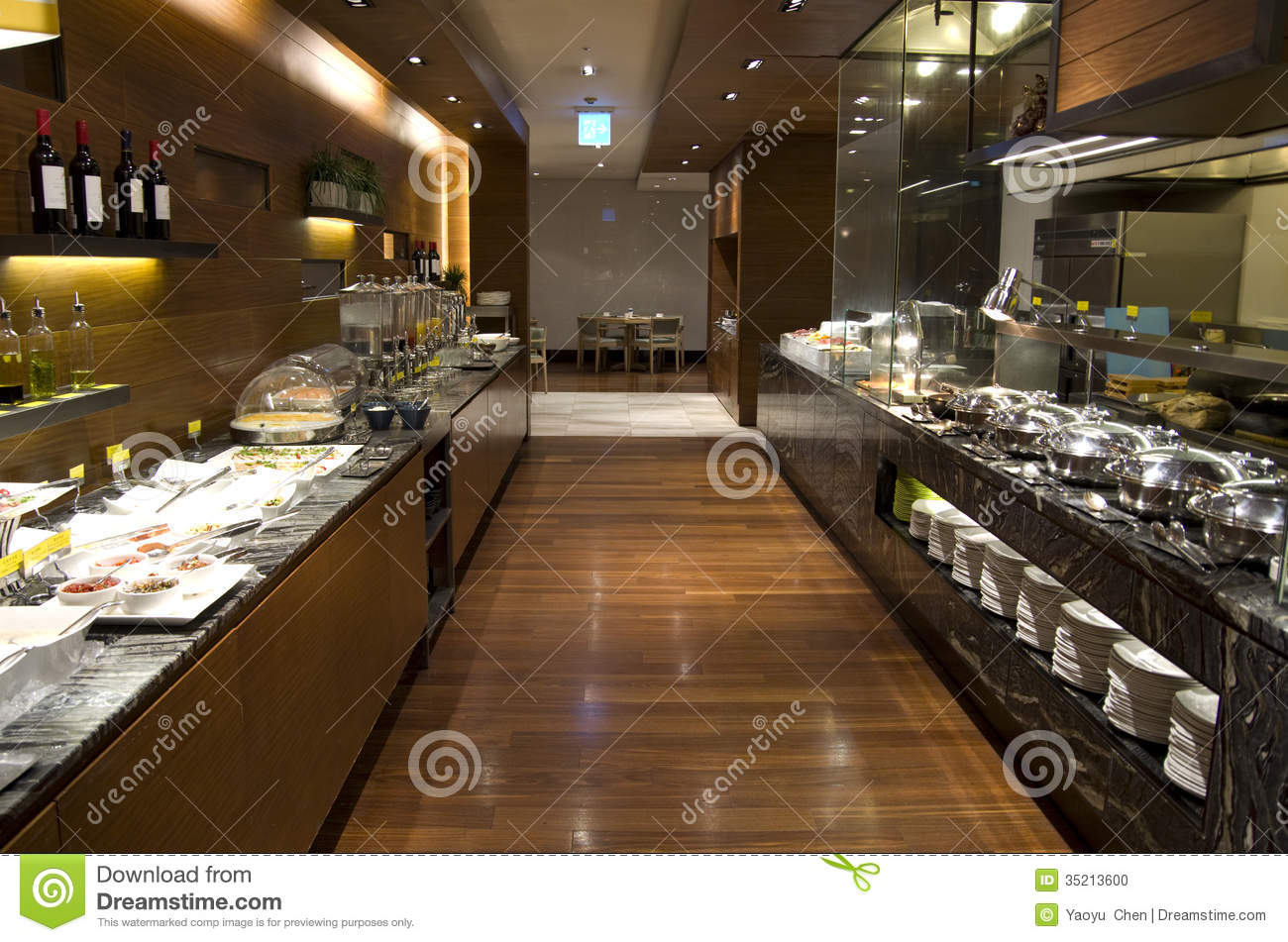 Buffet Cuisine Design Breakfast Buffet Restaurant Food In A Hotel Stock Photo