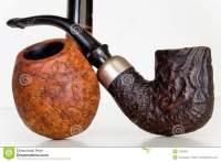 Briar Root Pipes stock photo. Image of wooden, tobacco ...