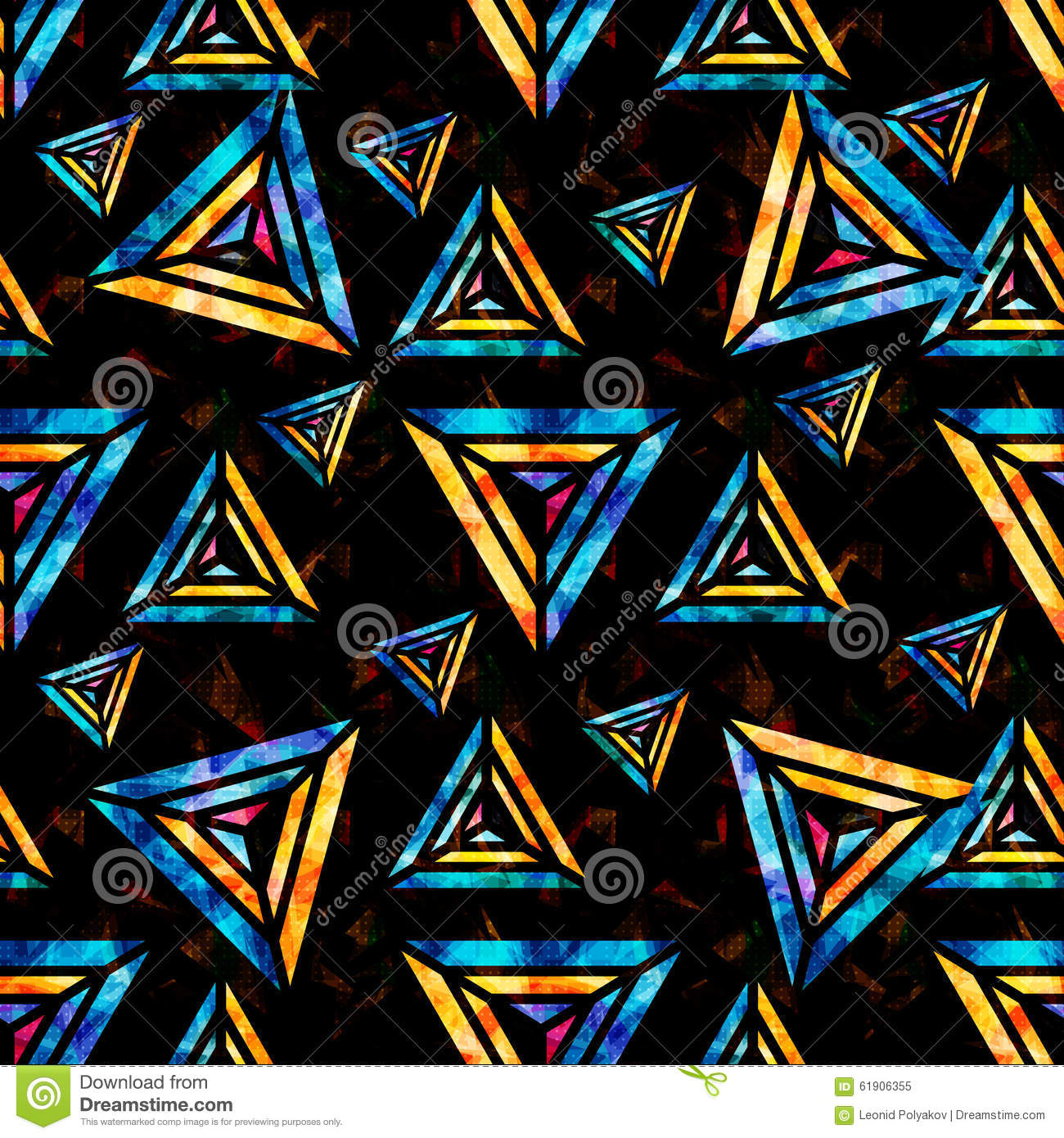 Bright Wallpapers For Iphone 6 Bright Psychedelic Polygons On A Black Background Abstract