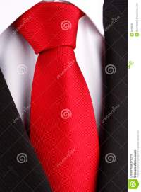 Bright Red Tie Royalty Free Stock Photos - Image: 9416978