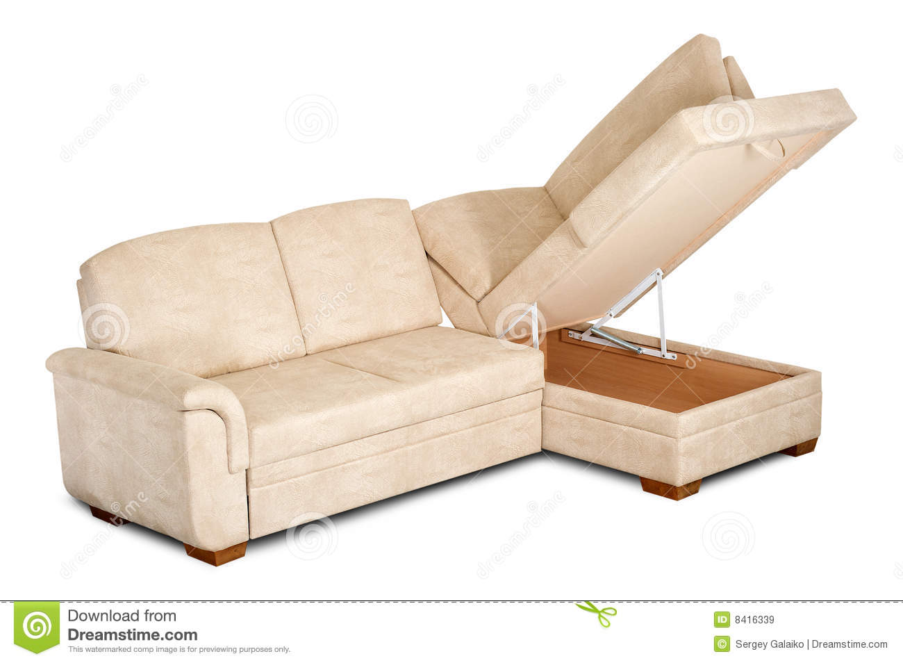 Sofa Open Box Bright Sofa With An Open Box Stock Image Image Of Relaxation