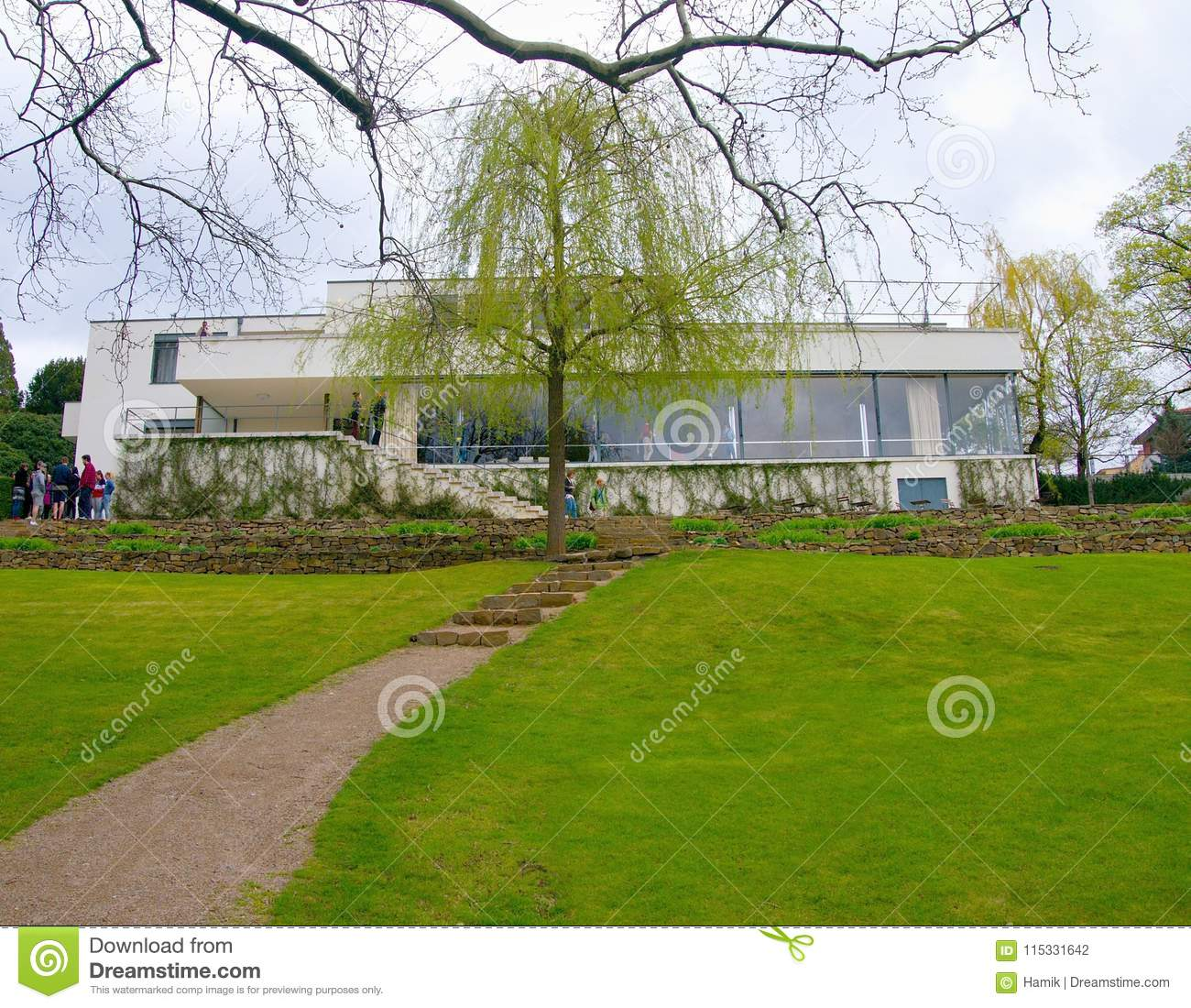 Villa Tugendhat Villa Tugendhat Editorial Photography Image Of Modern 115331642