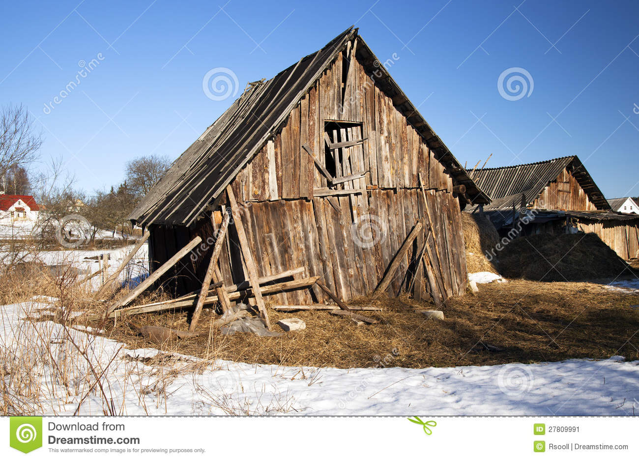 Fall Barn Wallpaper The Broken Shed Stock Image Image Of Hopelessness