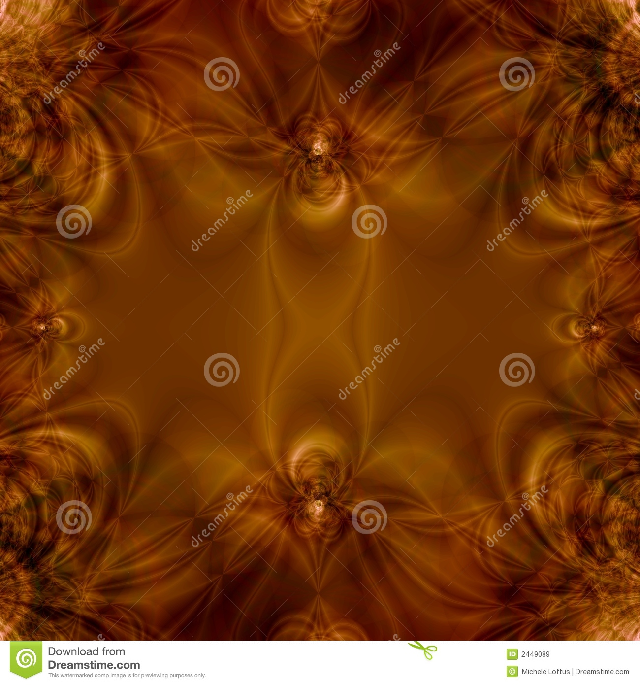 3d Wallpaper Blue Red Bronze Abstract Background Royalty Free Stock Images