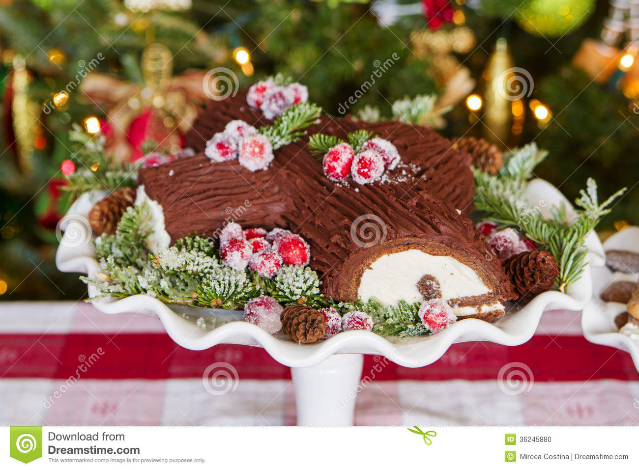 Decoration Buche De Noel Maison Décorer Blog Fr Decoration Buche De Noel