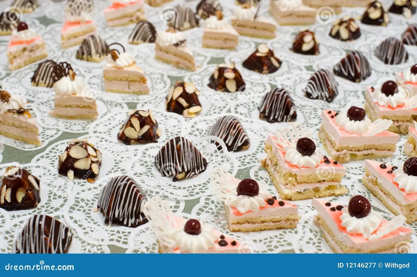 Buffet Table Dessert Stock Image Image Of Dessert Stand