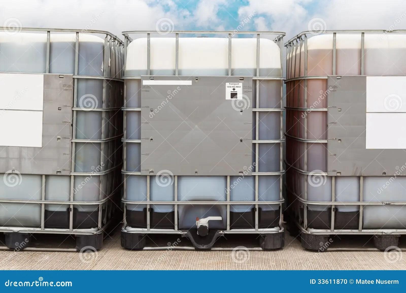 Bulk Oil Container Stock Photo Image 33611870