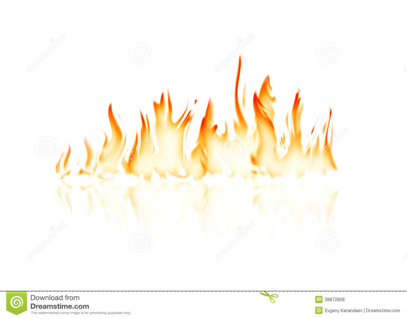Free Animated Fireplace Wallpaper Burning Fire Flame Stock Illustration Illustration Of