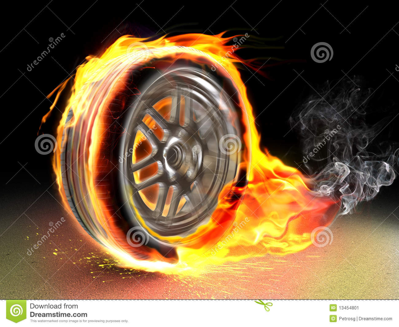 All Car Logo Wallpaper Burning Wheel Stock Image Image 13454801