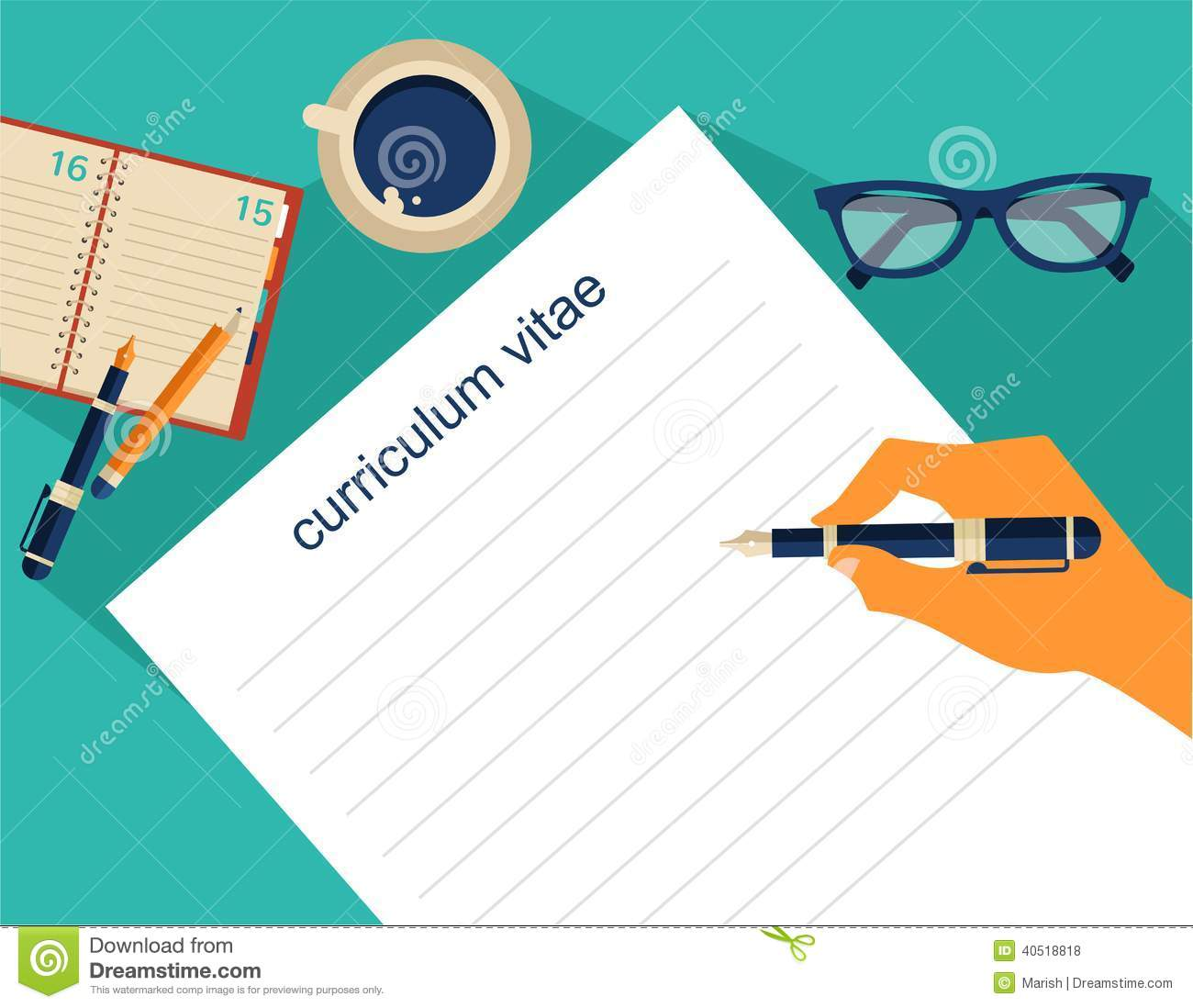 clip art cv office