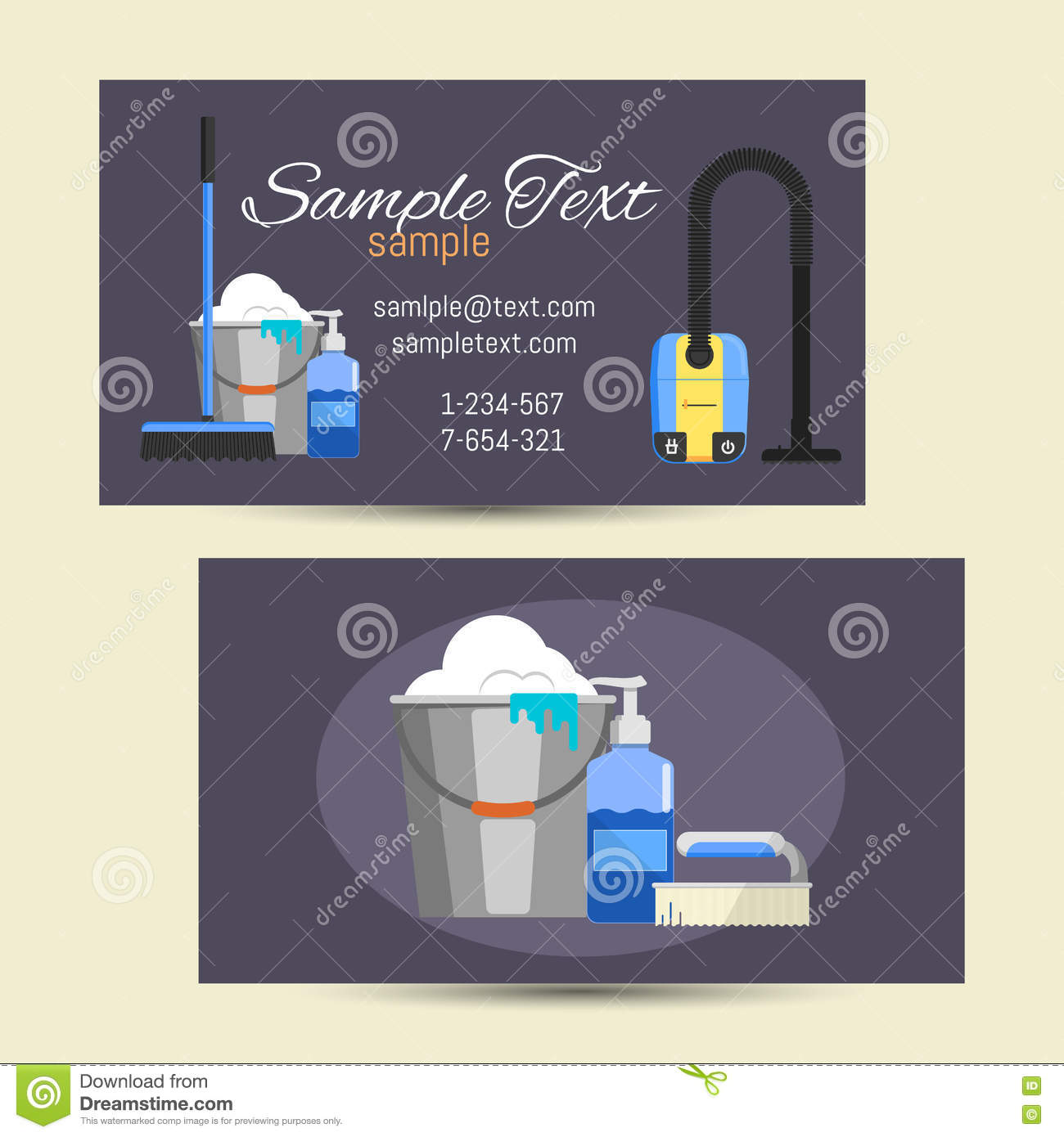Cleaning services business cards cleaning services business cards cleaning services lady magicingreecefo Choice Image