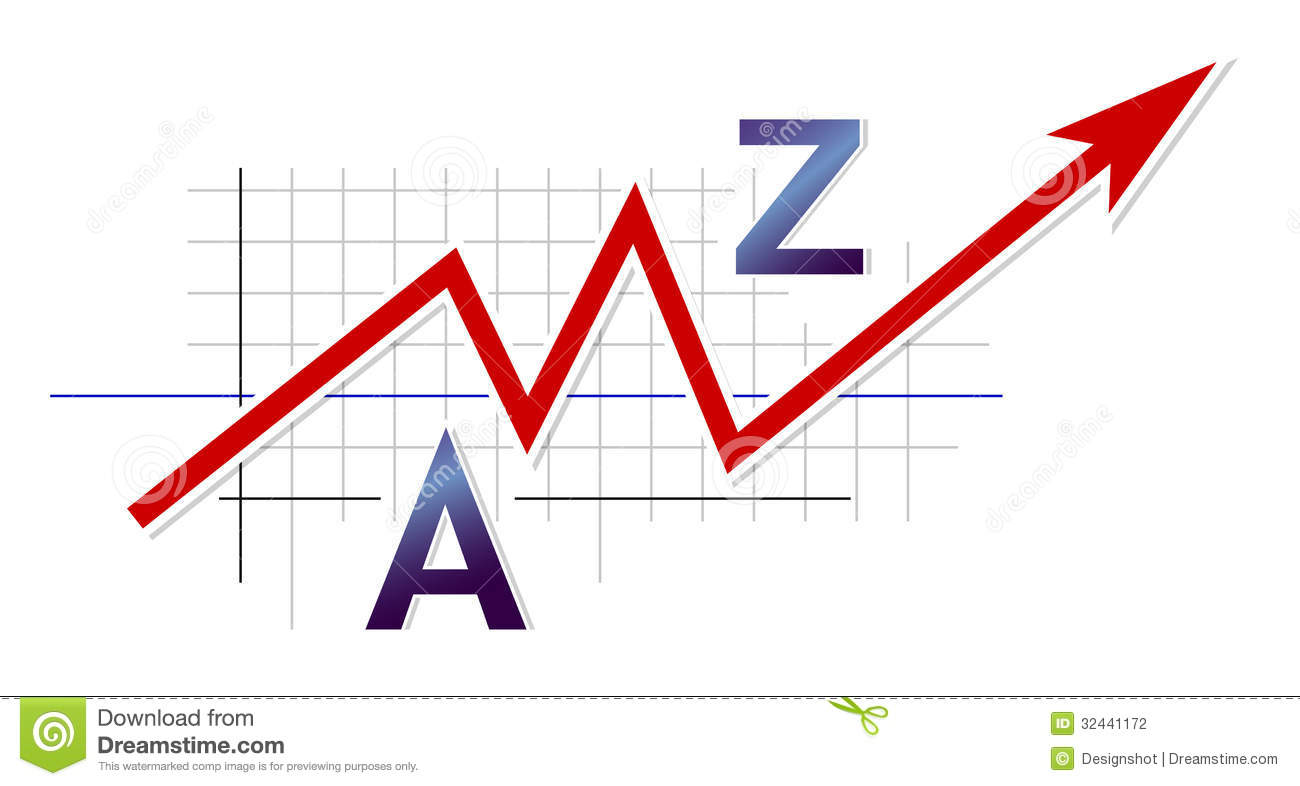 Stock Markets Up Business Graph Stock Photography Image 32441172