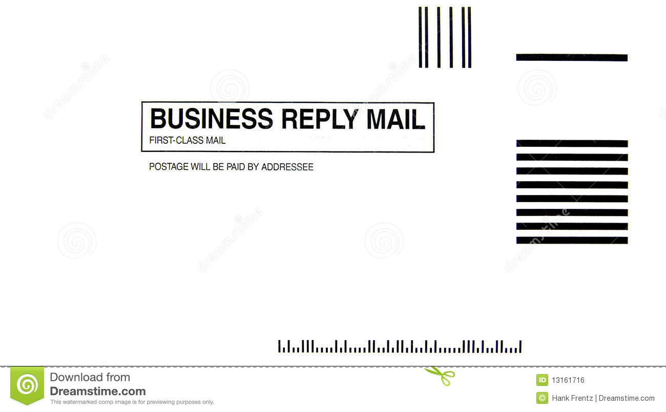 Business Reply Card Size Gallery - Card Design And Card Template