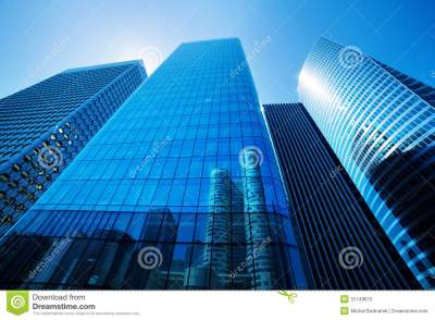 Business skyscrapers stock photo. Image of business, bank - 31749610