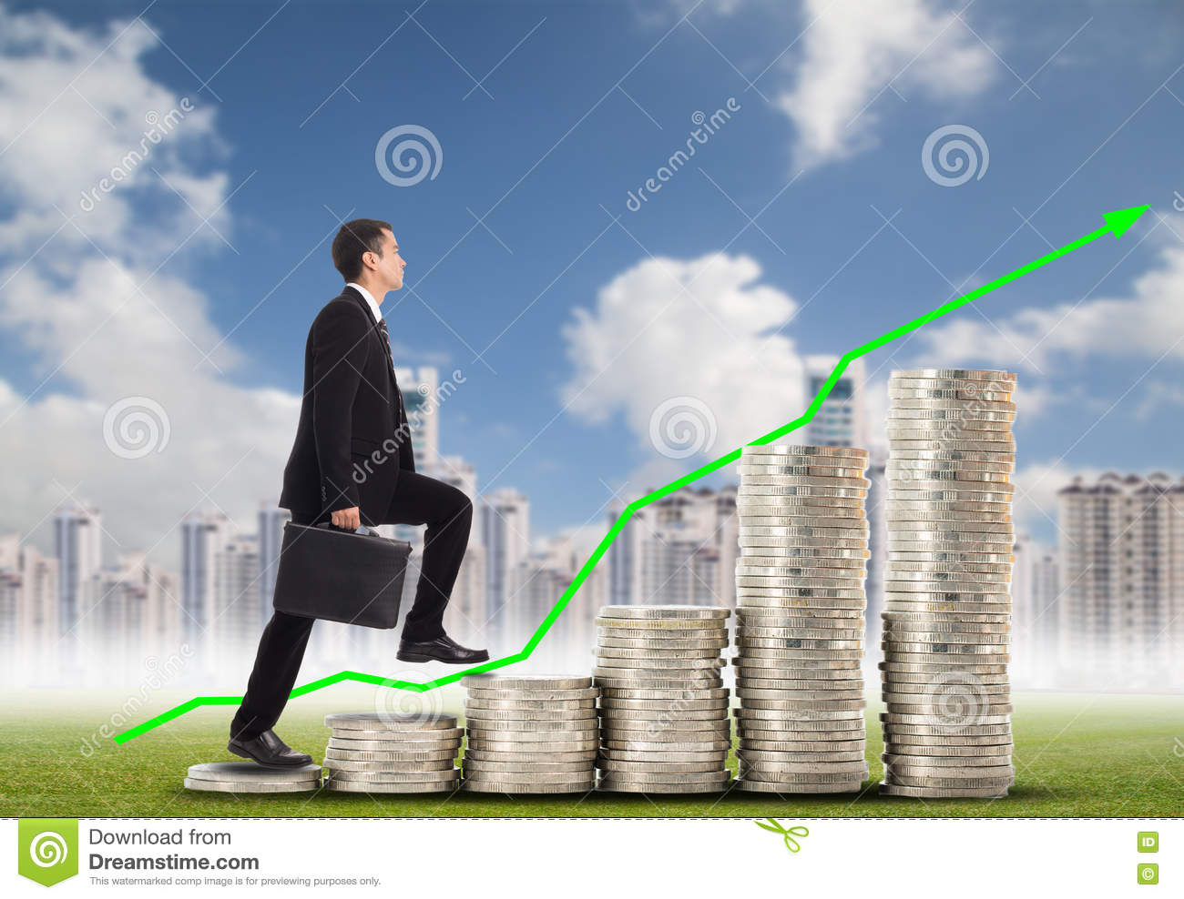 Business Step Business Step Up Stock Photo Image Of Risk Person 77613390
