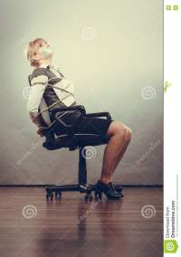 Girl Taped To Chair - Groundcontroltrading.com