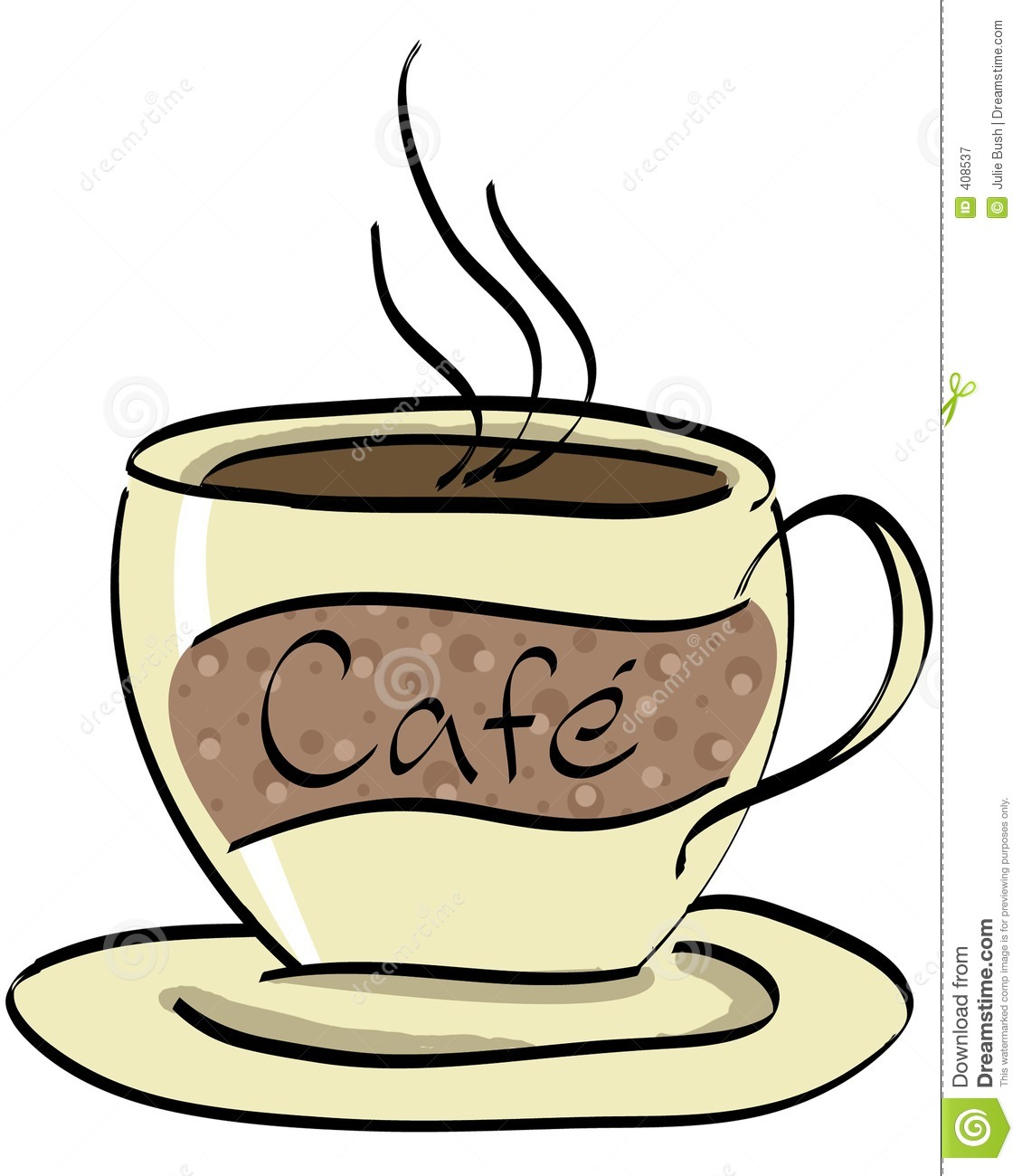 Clipart Kuchen Und Kaffee Cafe 2 Stock Illustrationer Illustration Av Kaffe