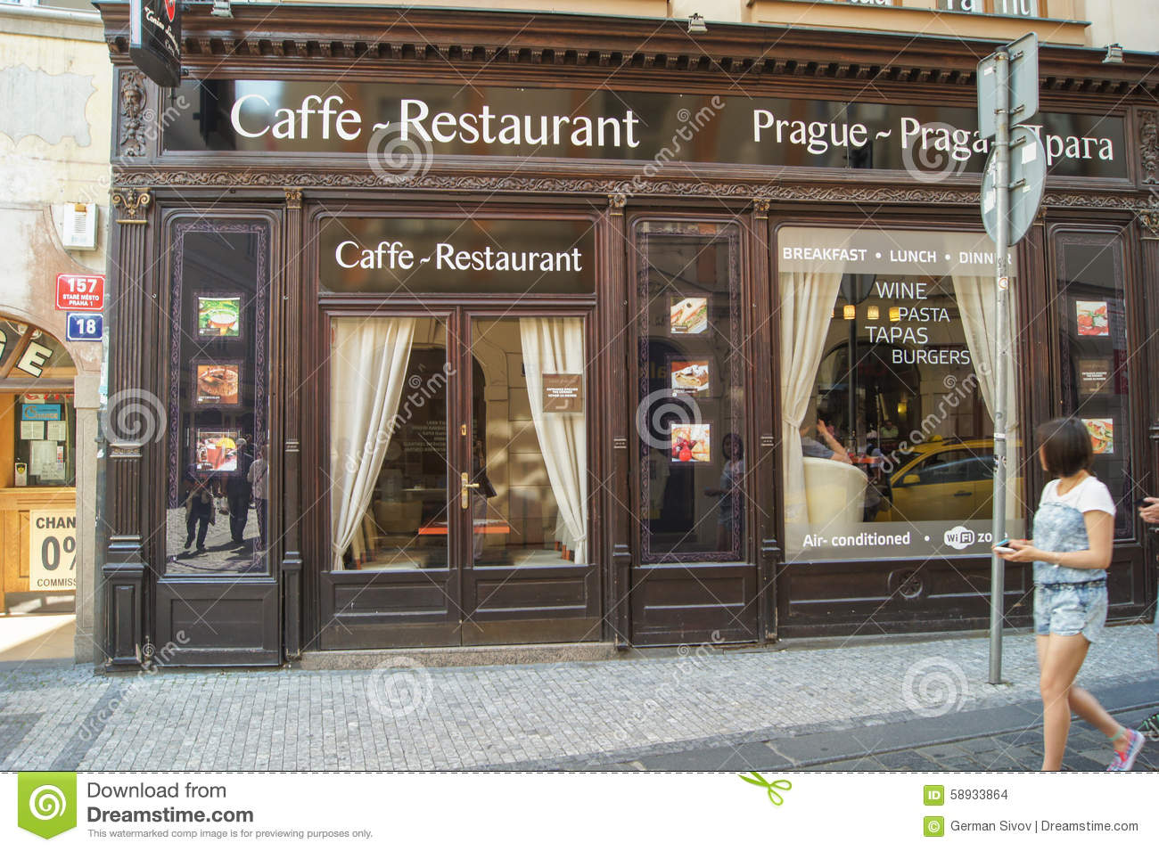 Image Café Cafe Restaurant Editorial Stock Image Image Of History