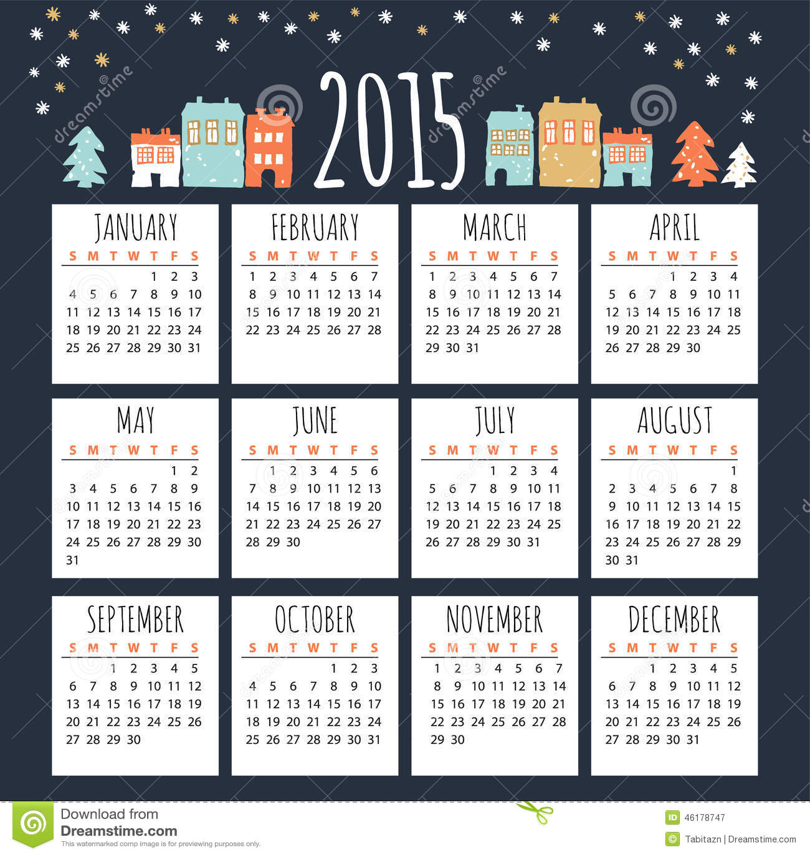 office calendars 2015