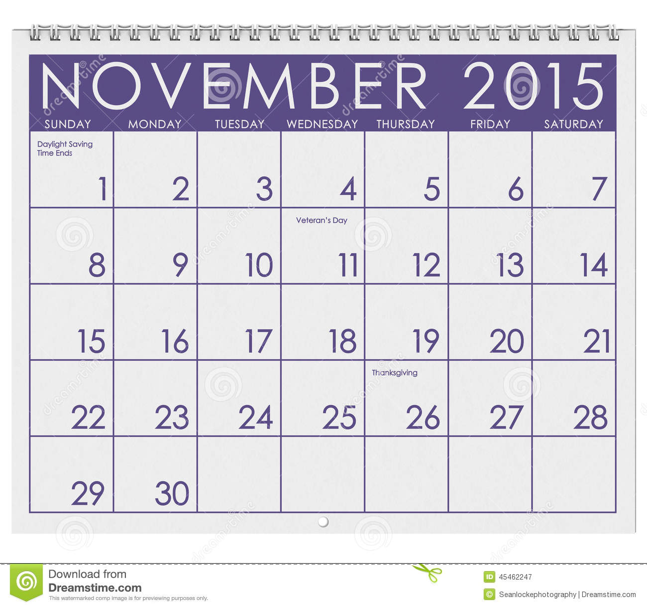 Holiday Calendar Schedule Fedex Holiday Schedule Openclosed Status 2015 Calendar Month Of November Stock Illustration
