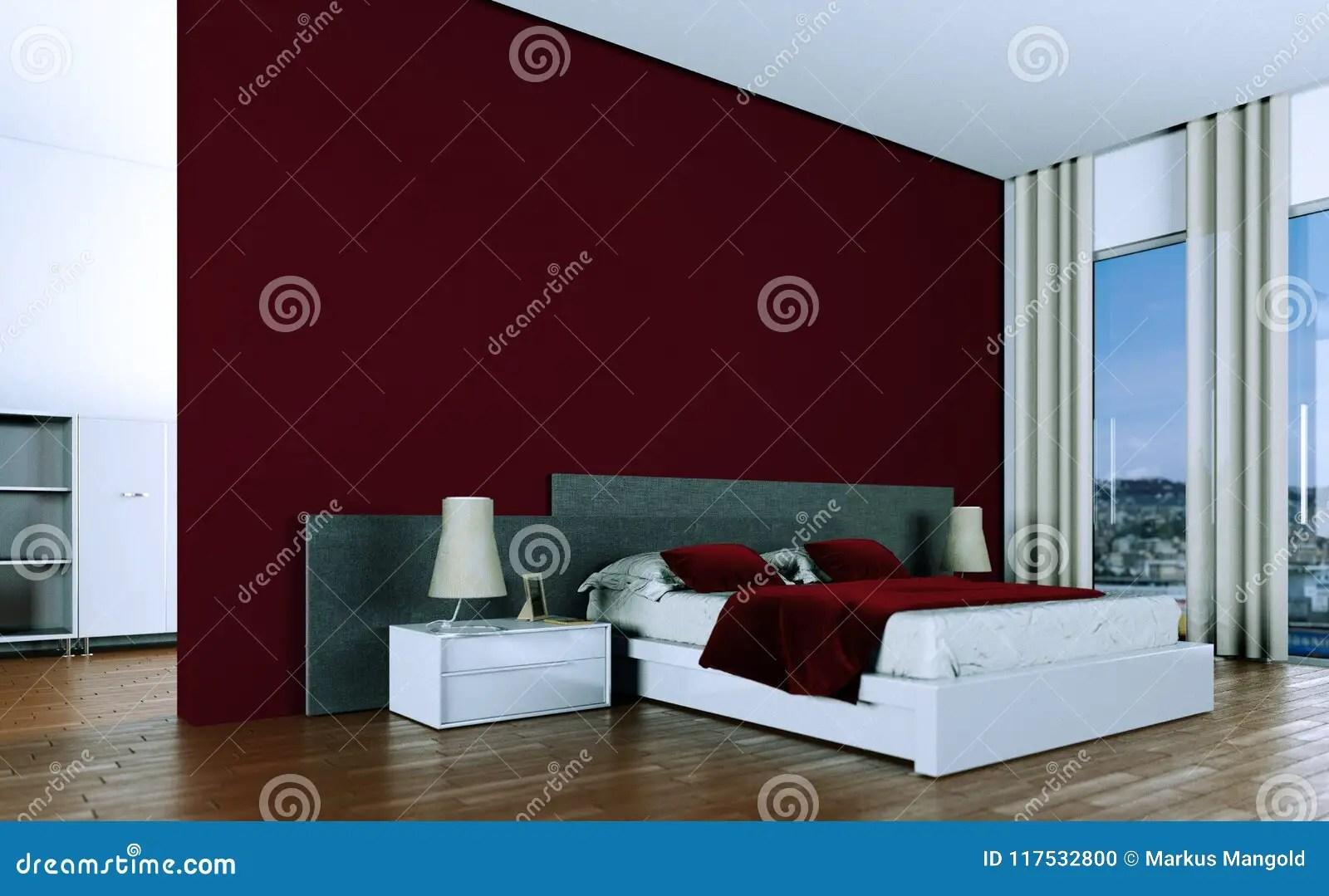 Parete Camera Da Letto Rossa : Parete camera da letto moderna tinte pareti camera da letto