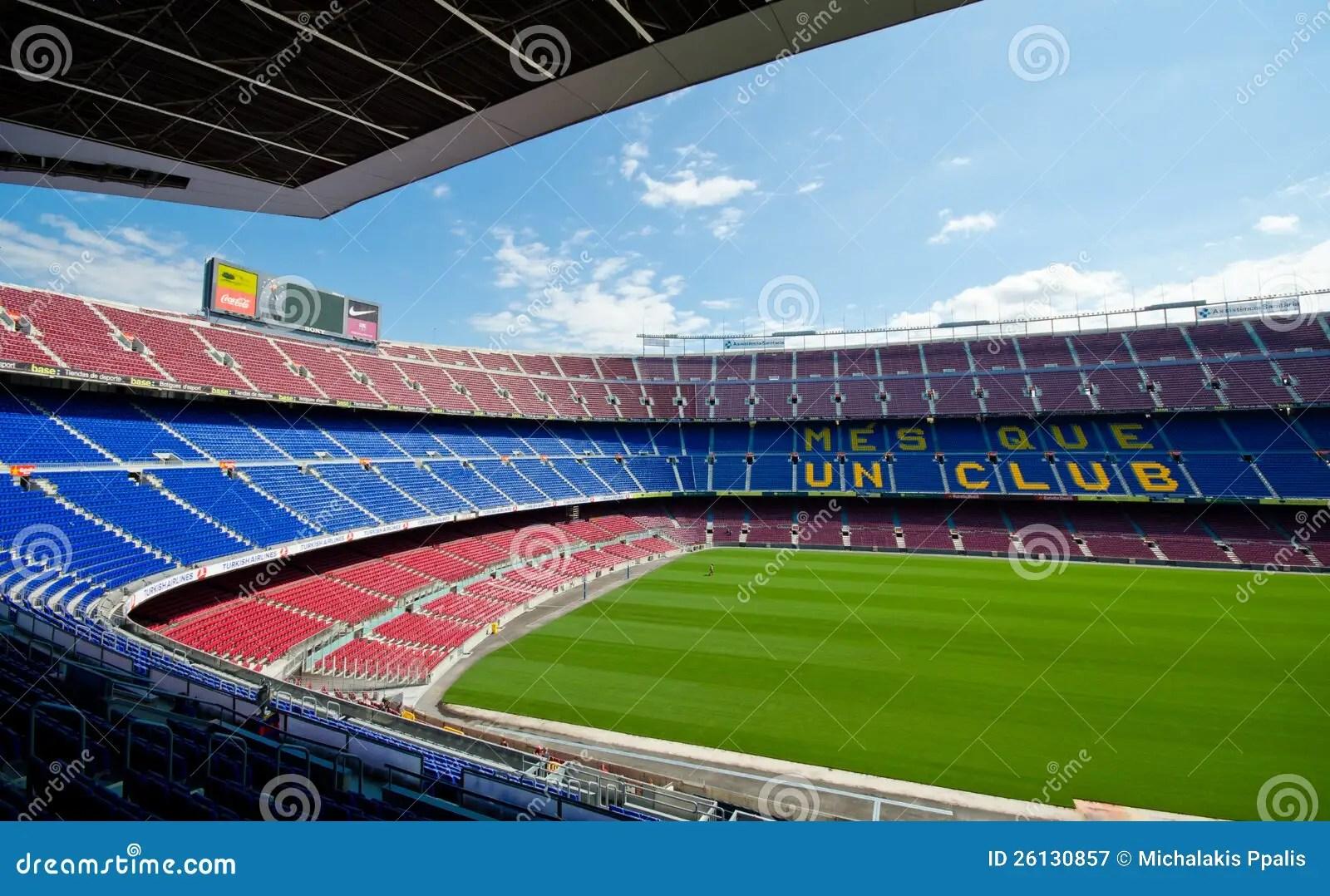 Wallpaper Barcelona Fc 3d Camp Nou Barcelona Stadium Editorial Photography Image