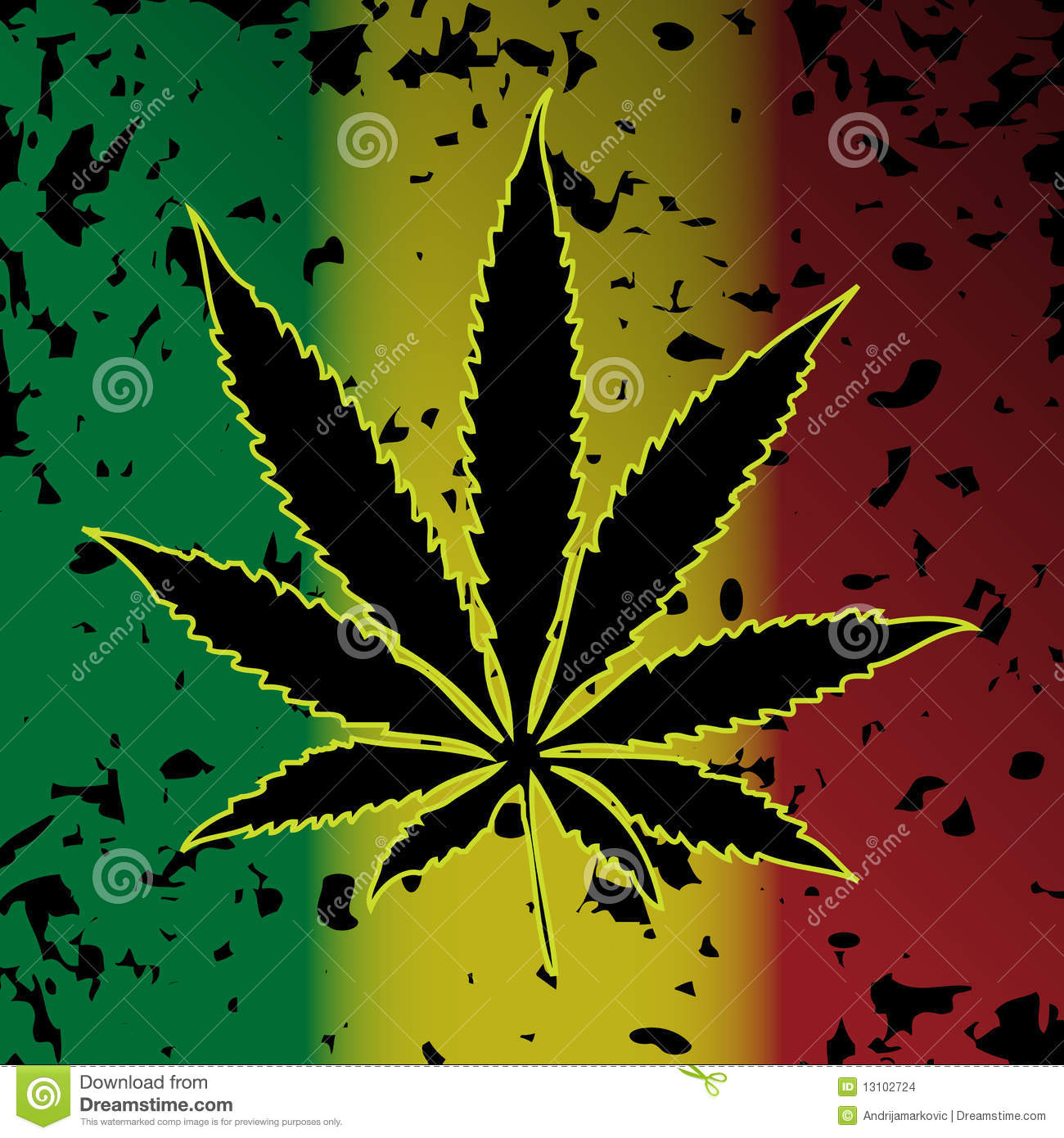 3d Abstract Art Hd Wallpaper Cannabis Marihuana Stock Afbeeldingen Beeld 13102724