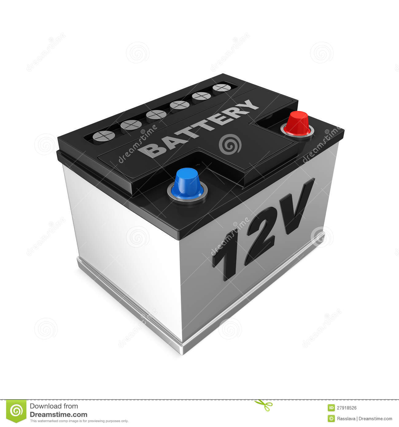 Voltage Auto Accu Car Battery Royalty Free Stock Image Image 27918526