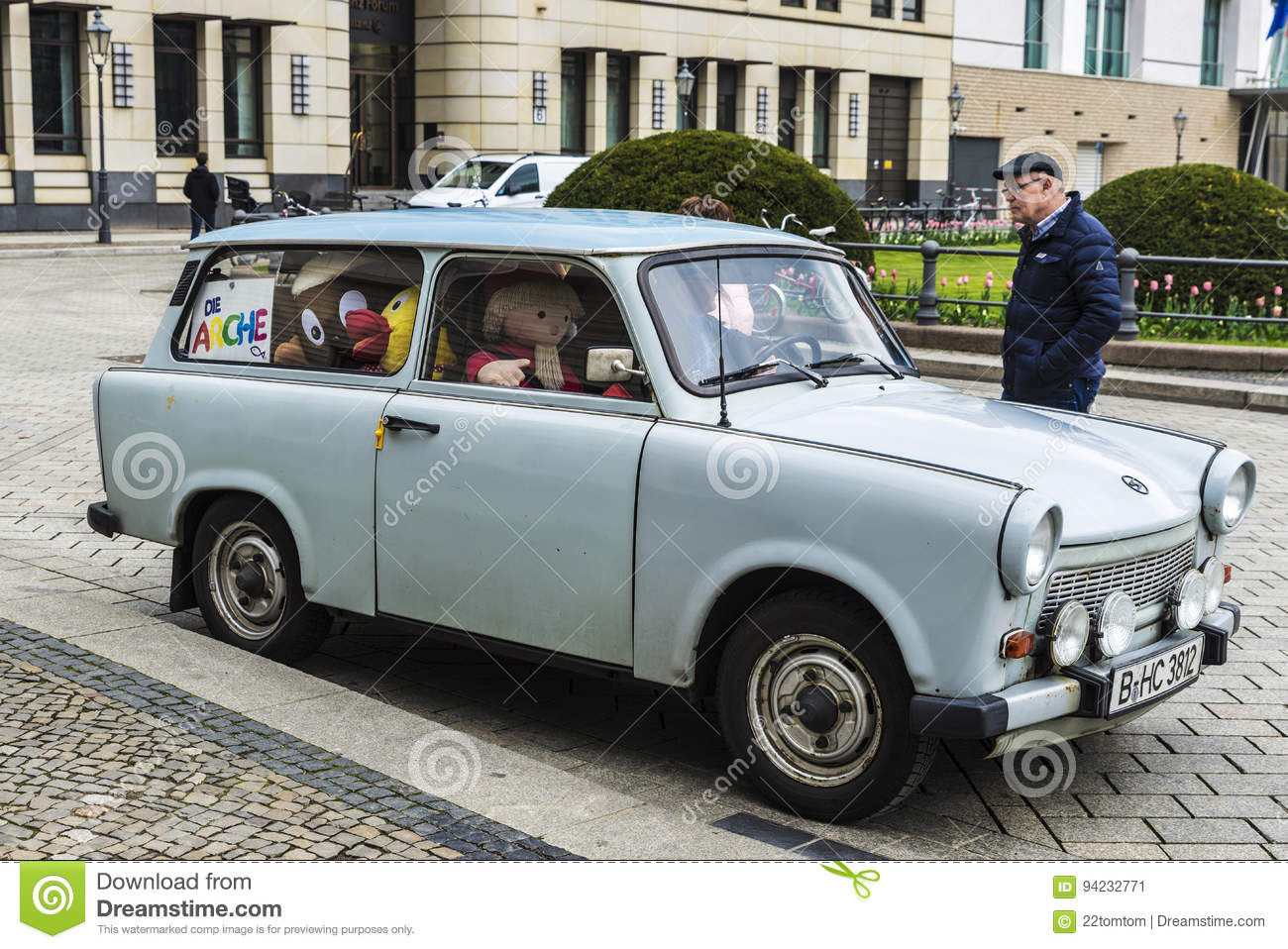 Trabant Clipart Car Of The Brand Trabant In Berlin Germany Editorial Photo