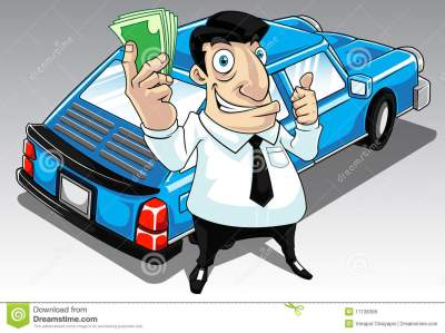 Car Loan stock illustration. Image of payday, annuity - 11138399