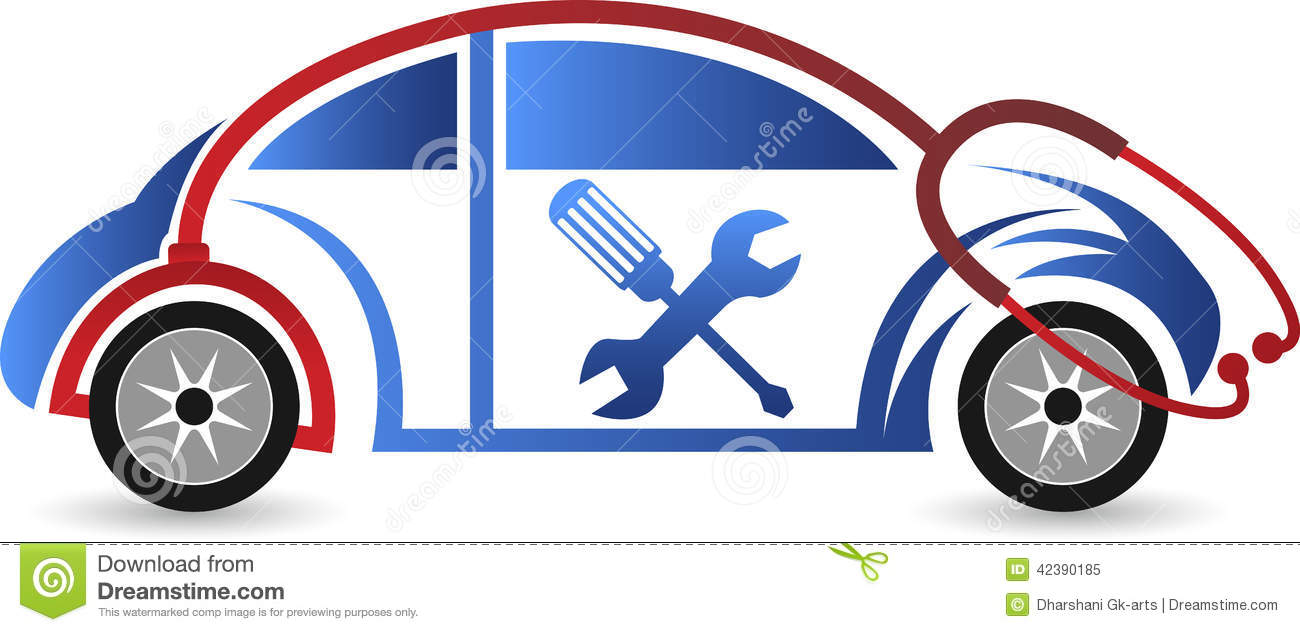Reparation Automobile Car Repair Logo Stock Vector Illustration Of Mechanic 42390185