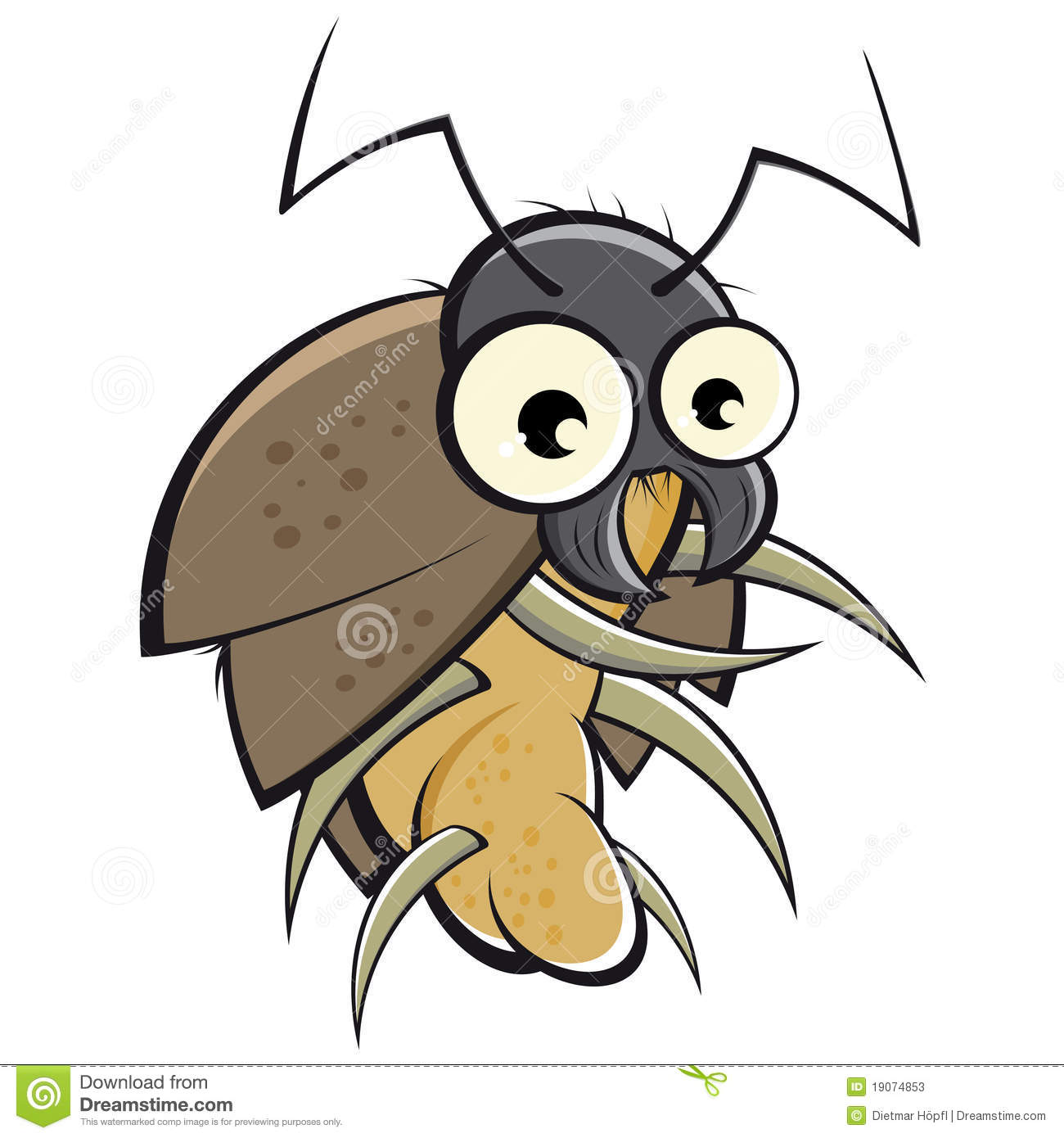 Kakerlaken Küchenschaben Cartoon Beetle Stock Vector Image Of Clipart Grey