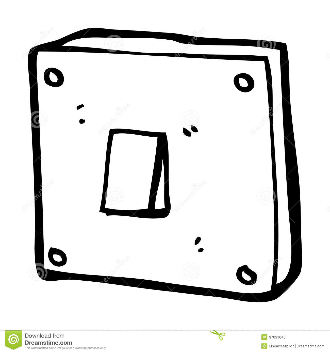 Light Switch Off Clipart Cartoon Light Switch Royalty Free Stock Image Image