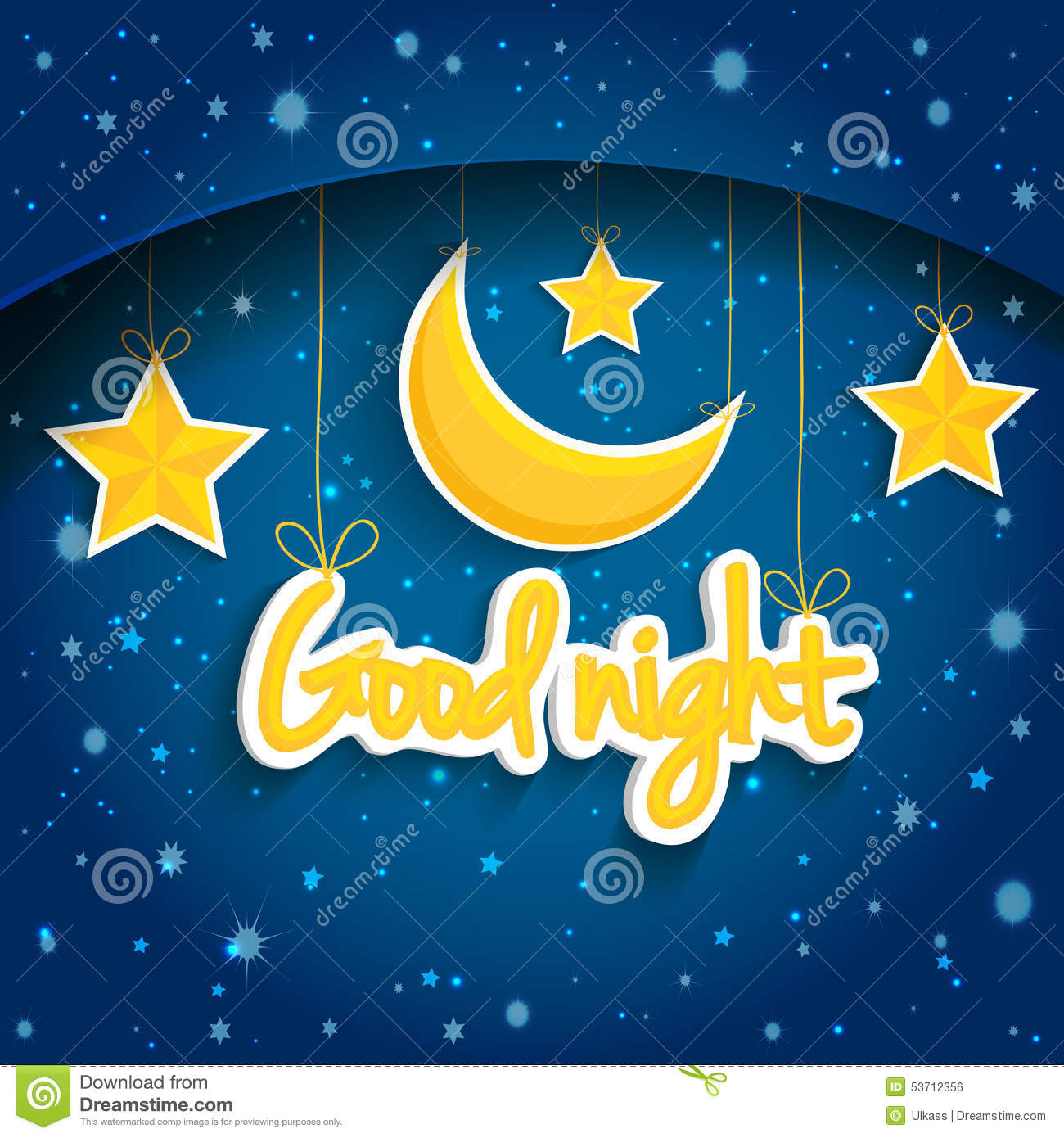 Che Quotes Wallpaper Cartoon Star And Moon Wishing Good Night Vector
