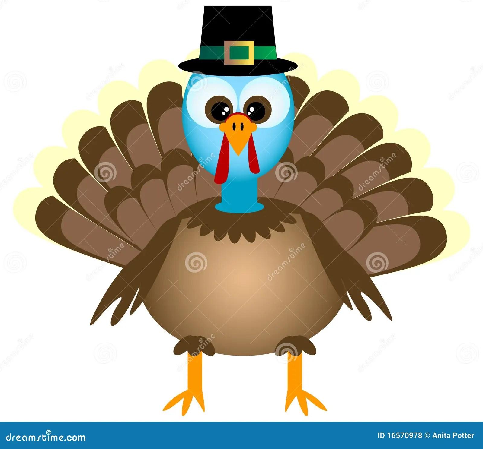 Fall Feather Wallpaper Cartoon Thanksgiving Turkey Stock Vector Image 16570978