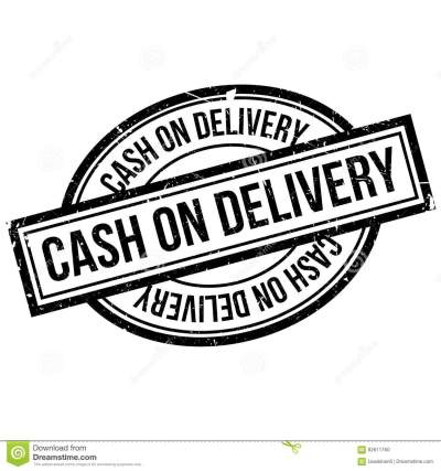 Cash On Delivery Rubber Stamp Stock Vector - Illustration of finance, delivery: 82611760