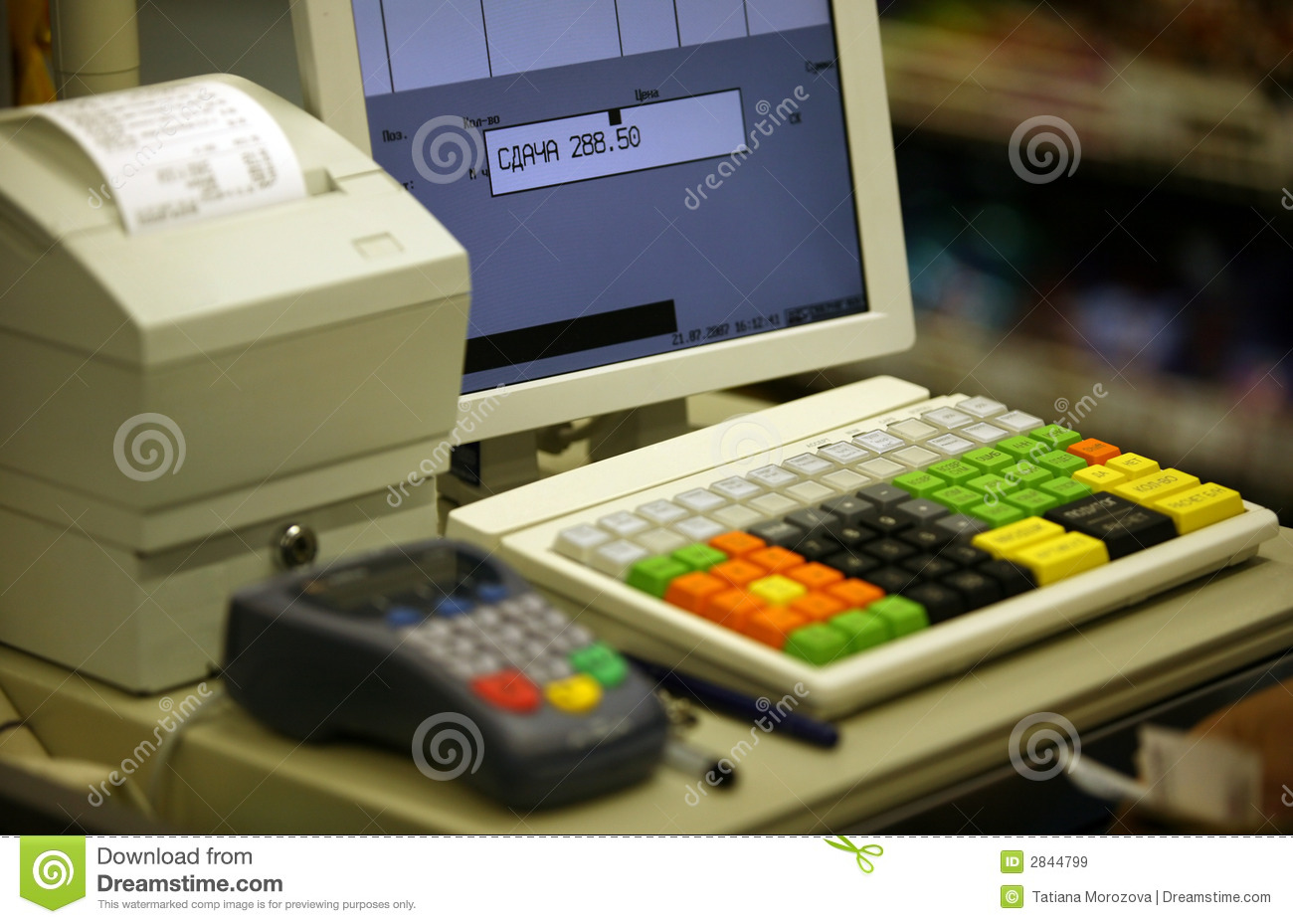 Buy Cash Register Cash Register Royalty Free Stock Images Image 2844799