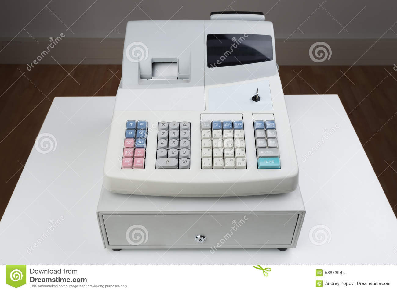 No Credit Check Financing Electronics Cash Register Moneybox Stock Photo Image 58873944