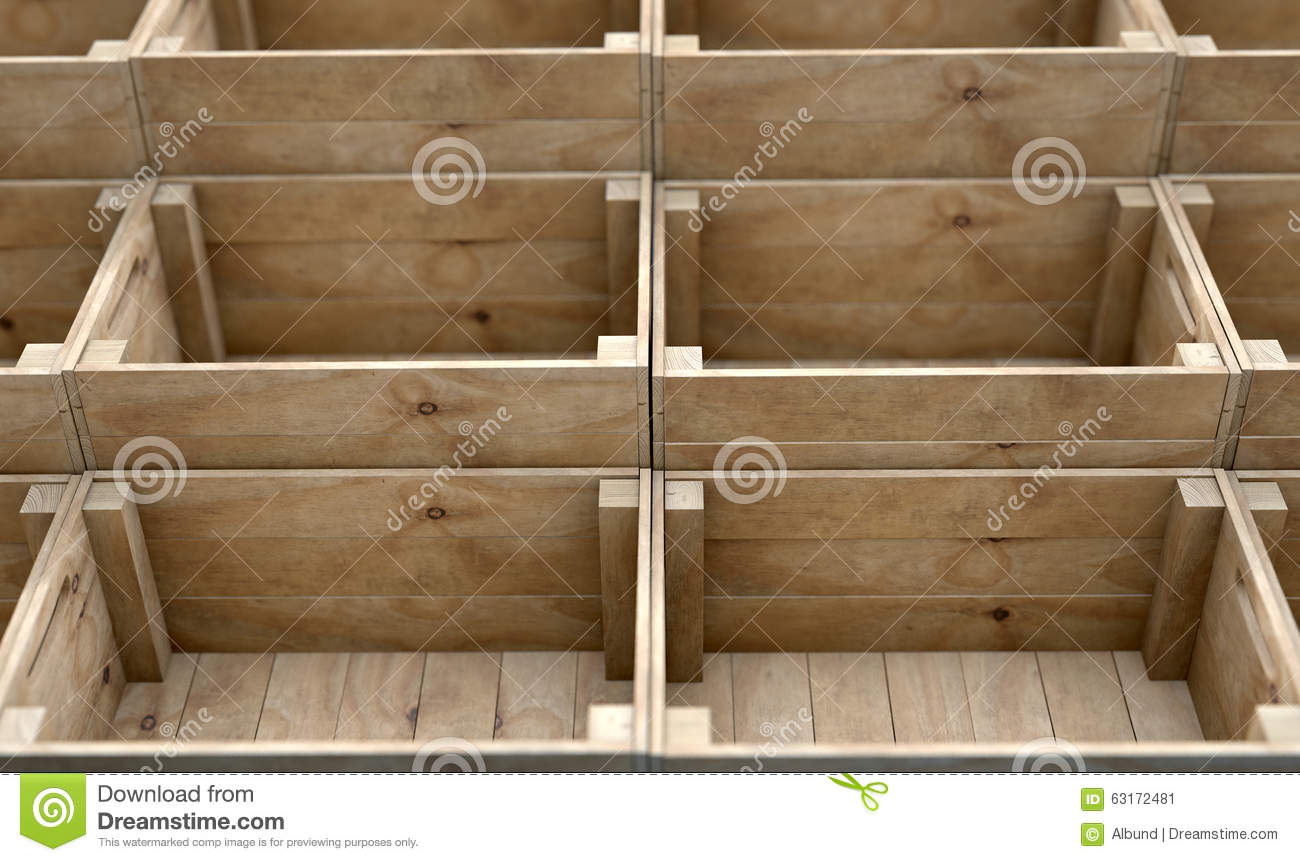 Casse Di Legno Casse Di Legno Impilate Stock Photos Royalty Free Images