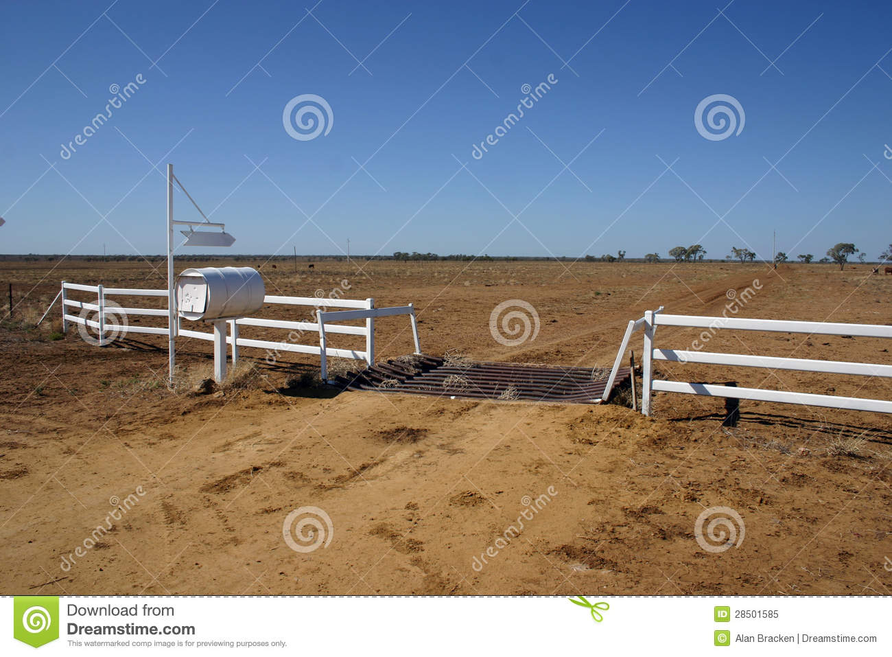 Metal Photo Prints Australia Cattle Station Australian Outback Stock Image Image