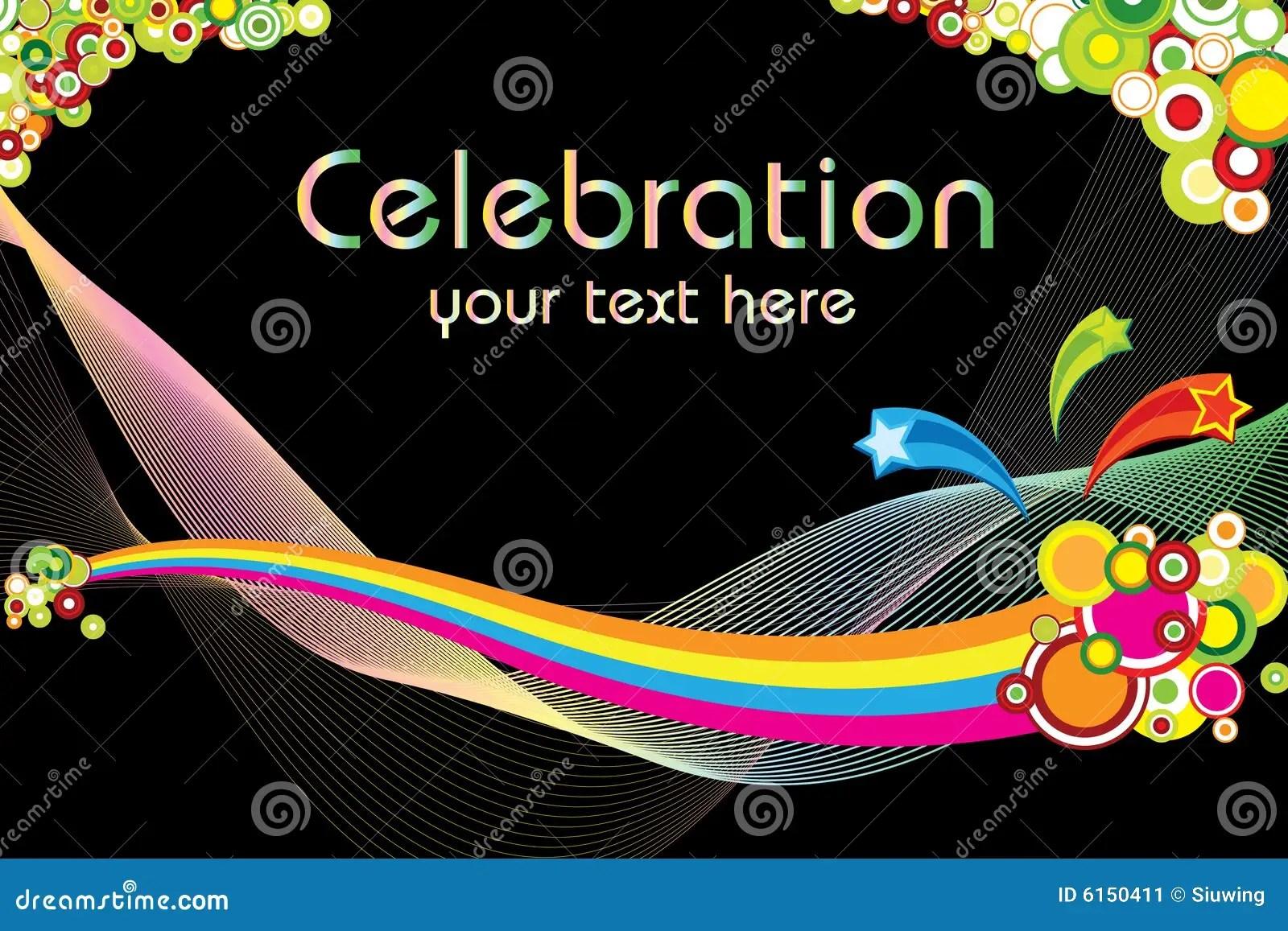 Beautiful Wallpapers 3d Animation Celebration Theme Stock Image Image 6150411